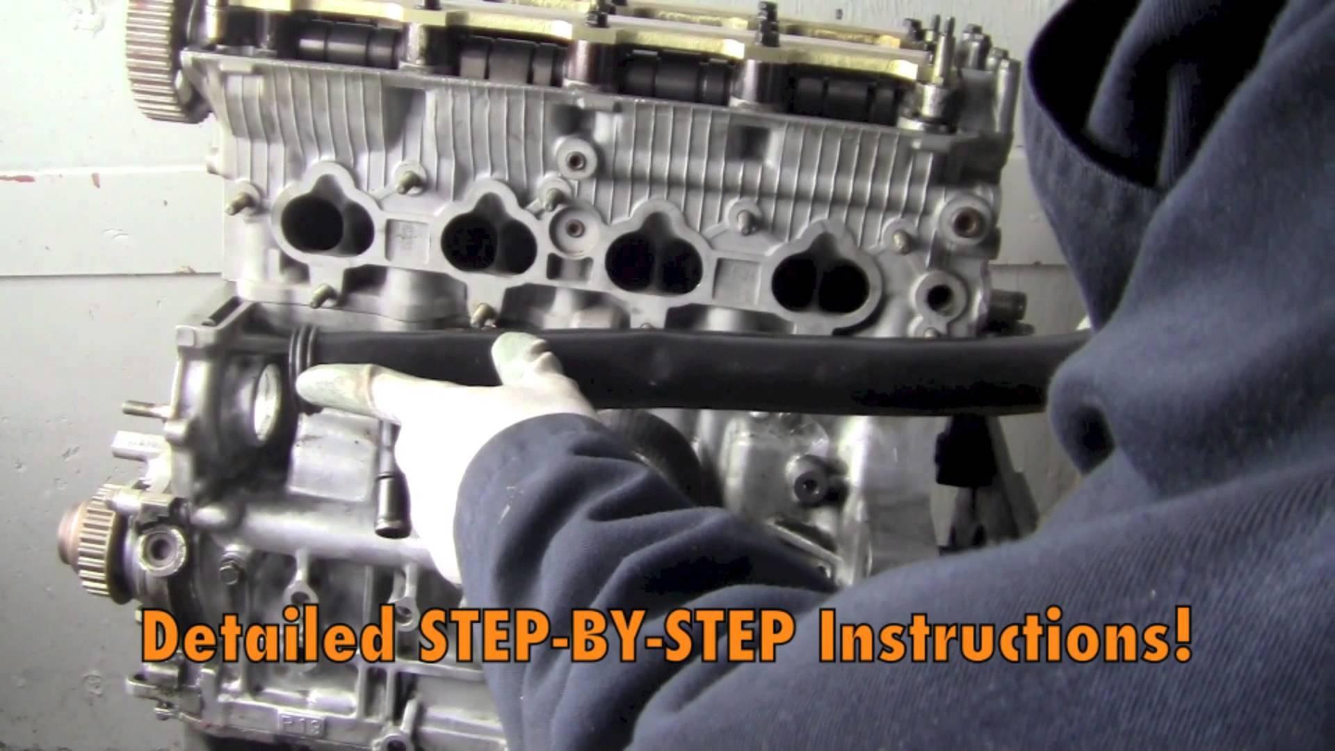 Honda Prelude Engine Diagram How to Rebuild Your Honda Prelude H Series  Engine Diy Dvd Of