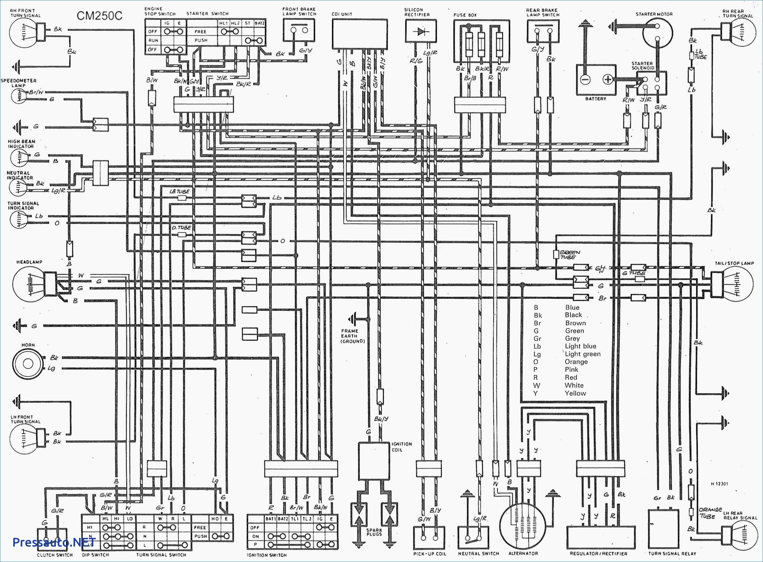 Honda vfr r electric starter wiring diagram wire data