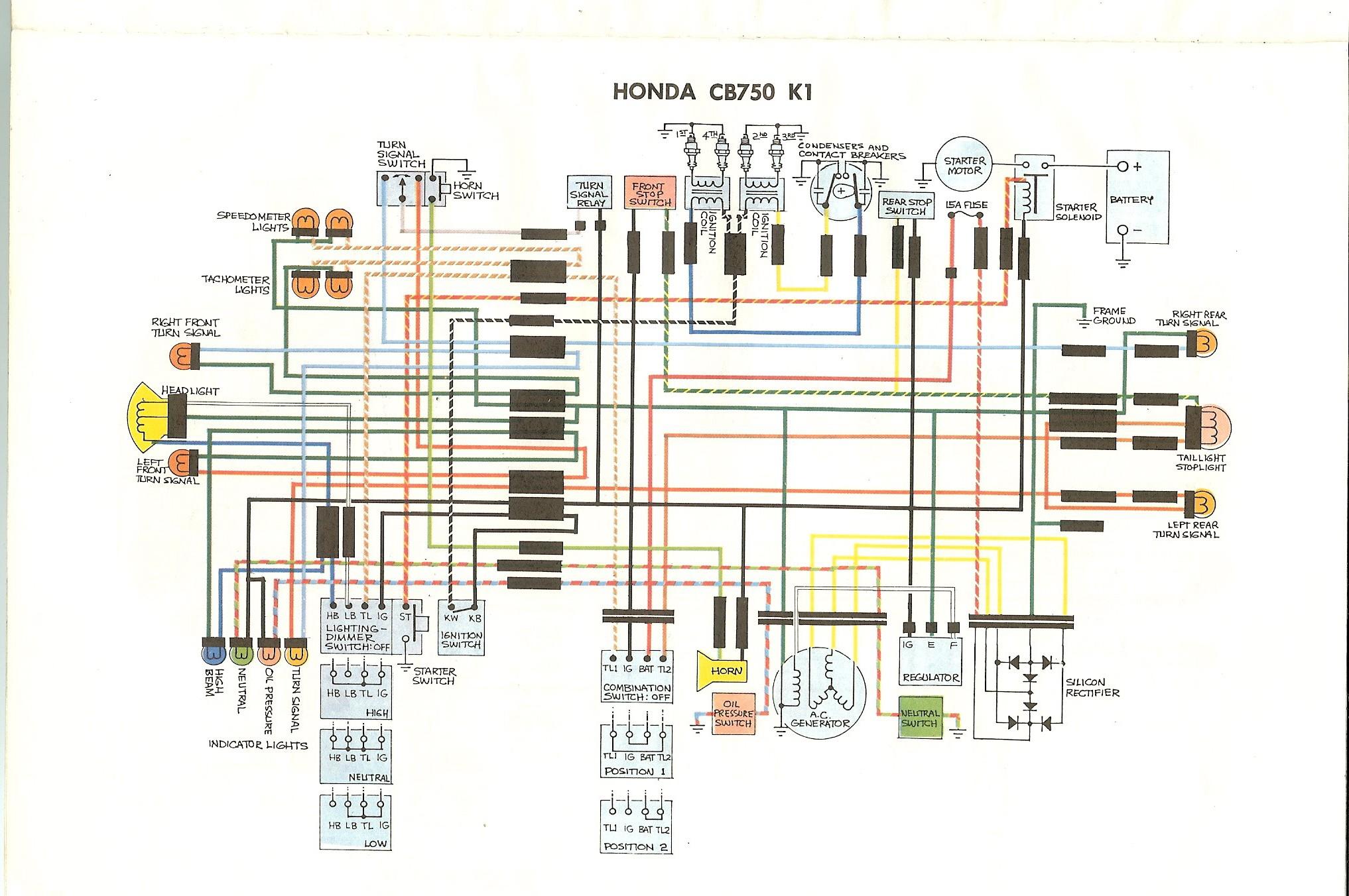 Honda Wiring Diagram Wiring Diagram Further Honda Cb 750 Wiring Diagram Cb Www Cb750 Of Honda Wiring Diagram