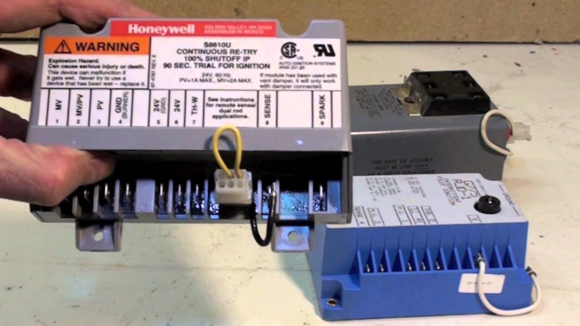 Honeywell S8610U Wiring Diagram   Honeywell S8610u Wiring Diagram Wiring Library