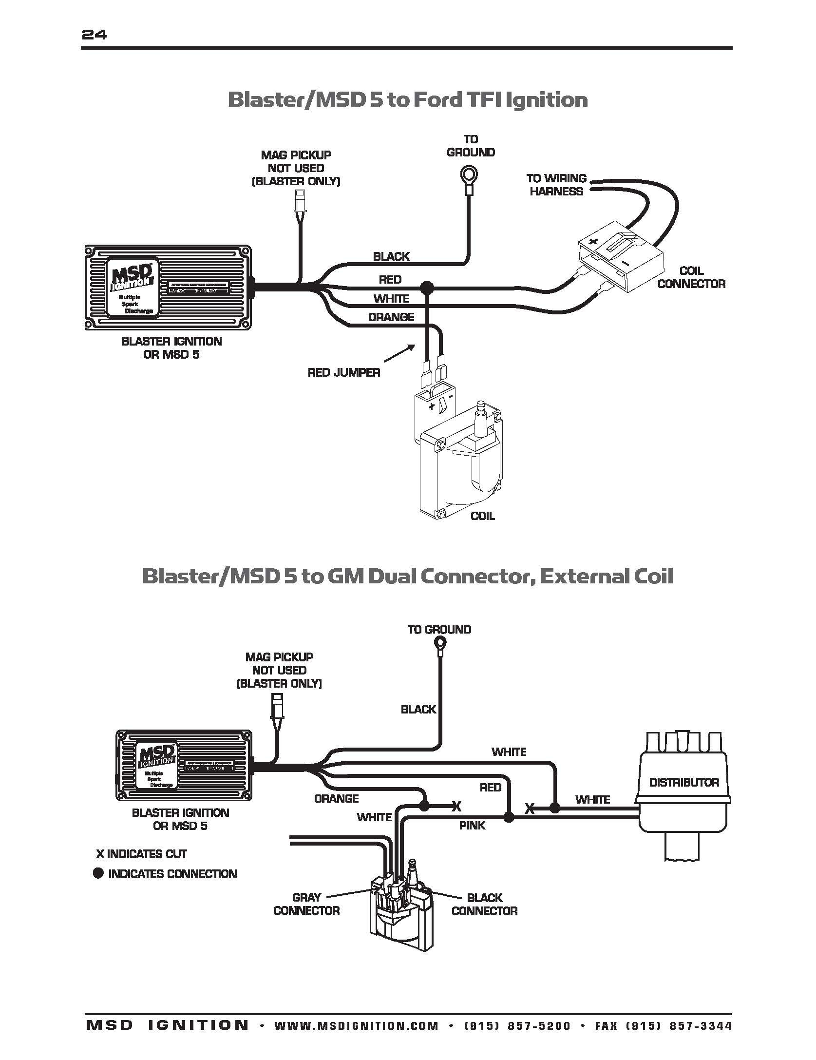 Ignition Coil Distributor Wiring Diagram Msd Ignition Wiring Diagrams Throughout 6a Diagram to Distributor Of Ignition Coil Distributor Wiring Diagram