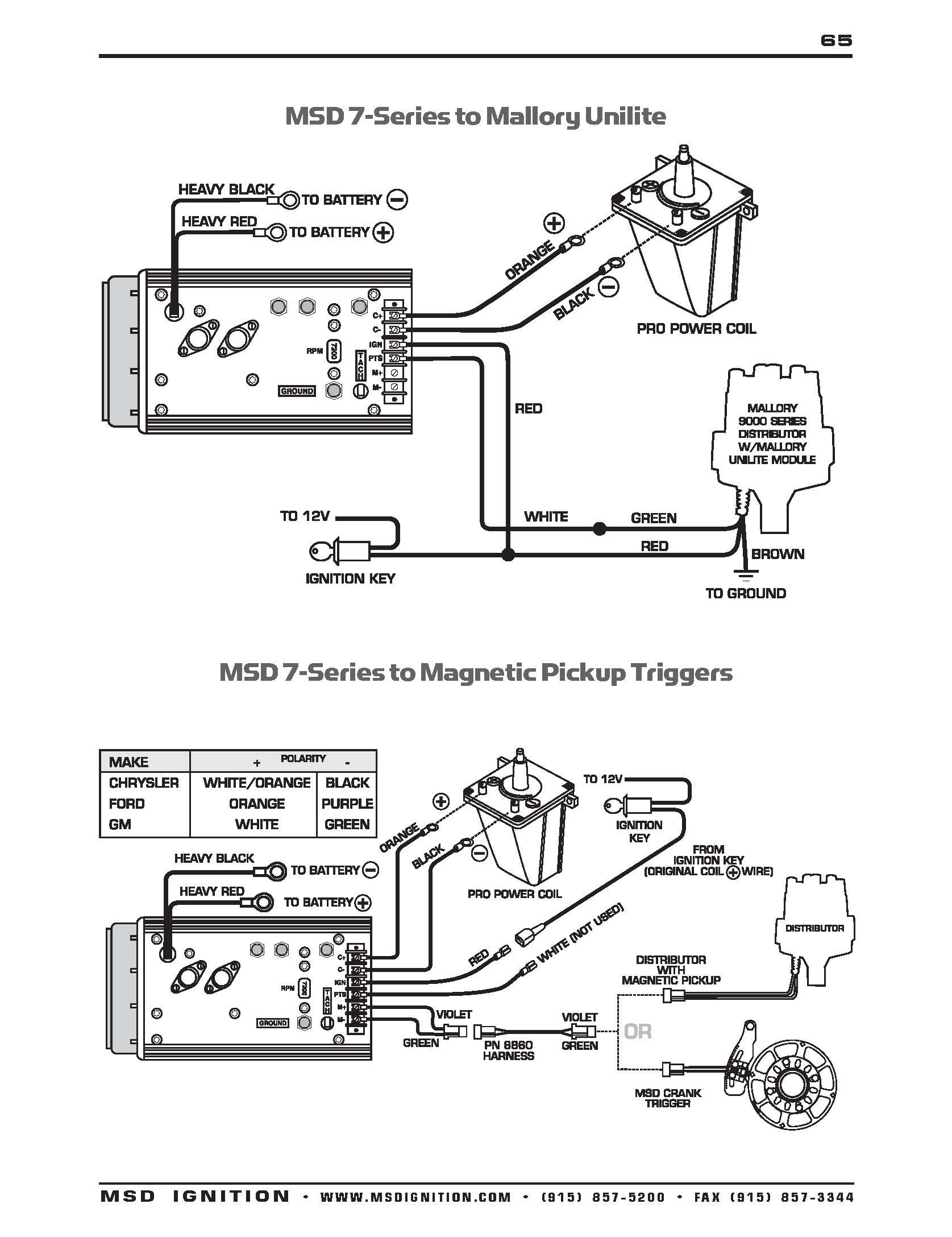 ignition coil distributor wiring diagram wdtn pn9615 page 064 in msd rh detoxicrecenze com MSD 6ALN 6430 Wiring-Diagram MSD Ford Wiring Diagrams