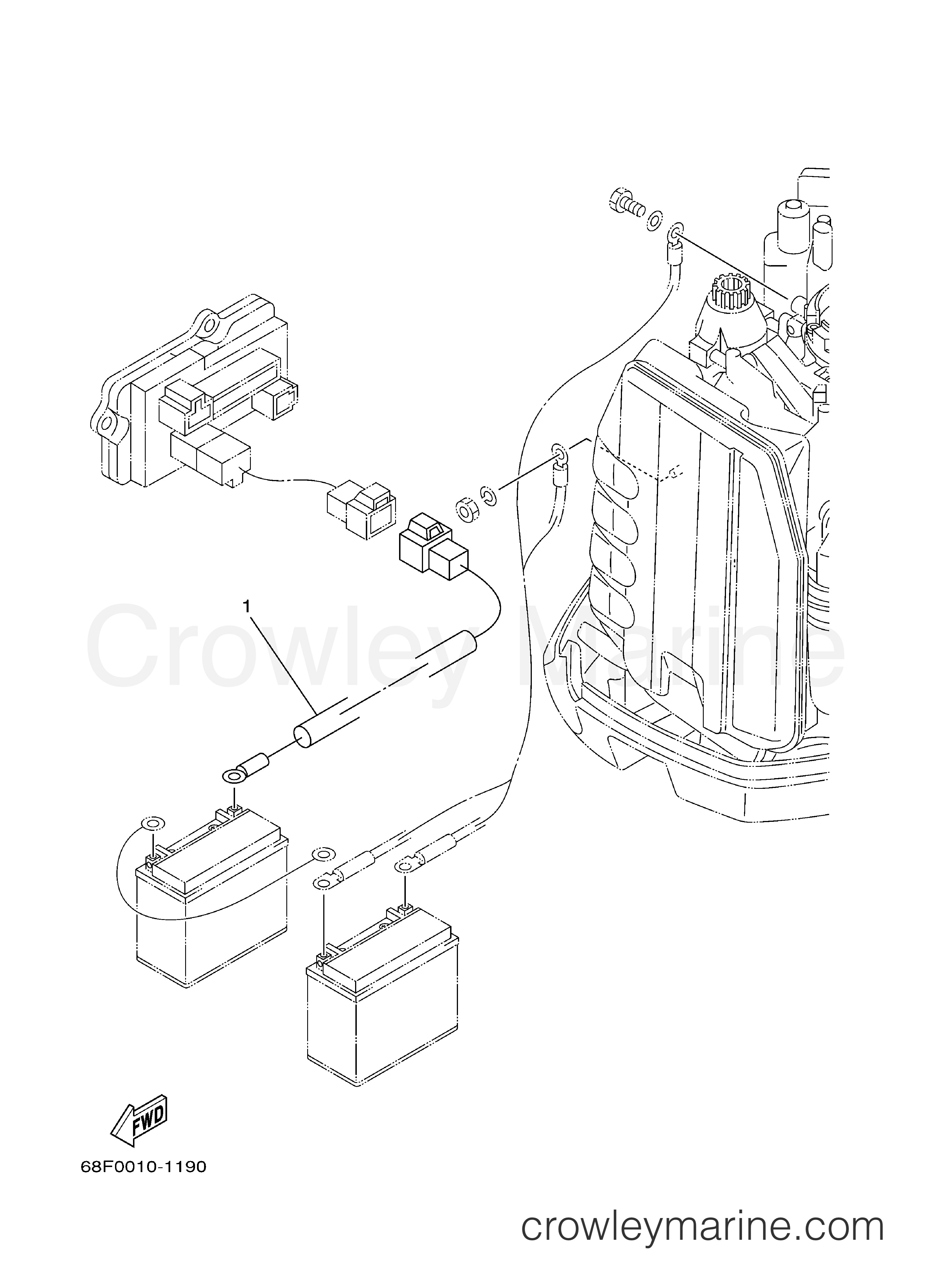 Inboard Outboard Engine Diagram Optional Parts 1 2001 Yamaha Outboard 150hp Z150txrz Of Inboard Outboard Engine Diagram