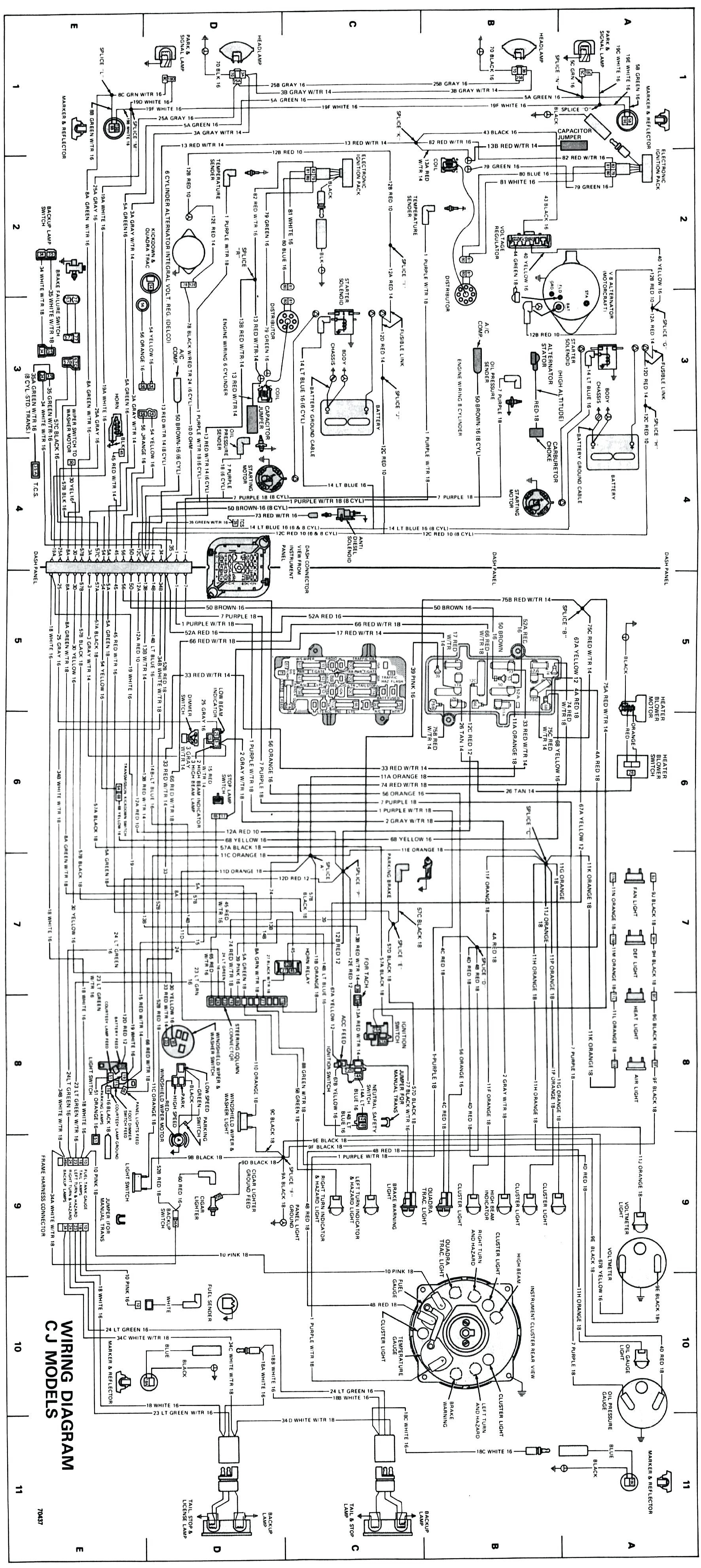 1982 Jeep Cj5 Wiring Diagram - WIRE Center •