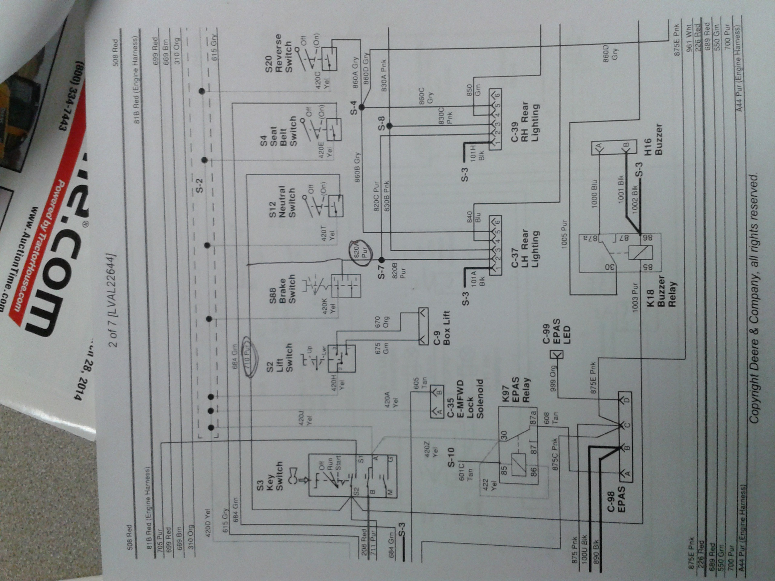 John Deere 100 Series Wiring Diagram Perfect Z225 Awesome Electrical Panel Of