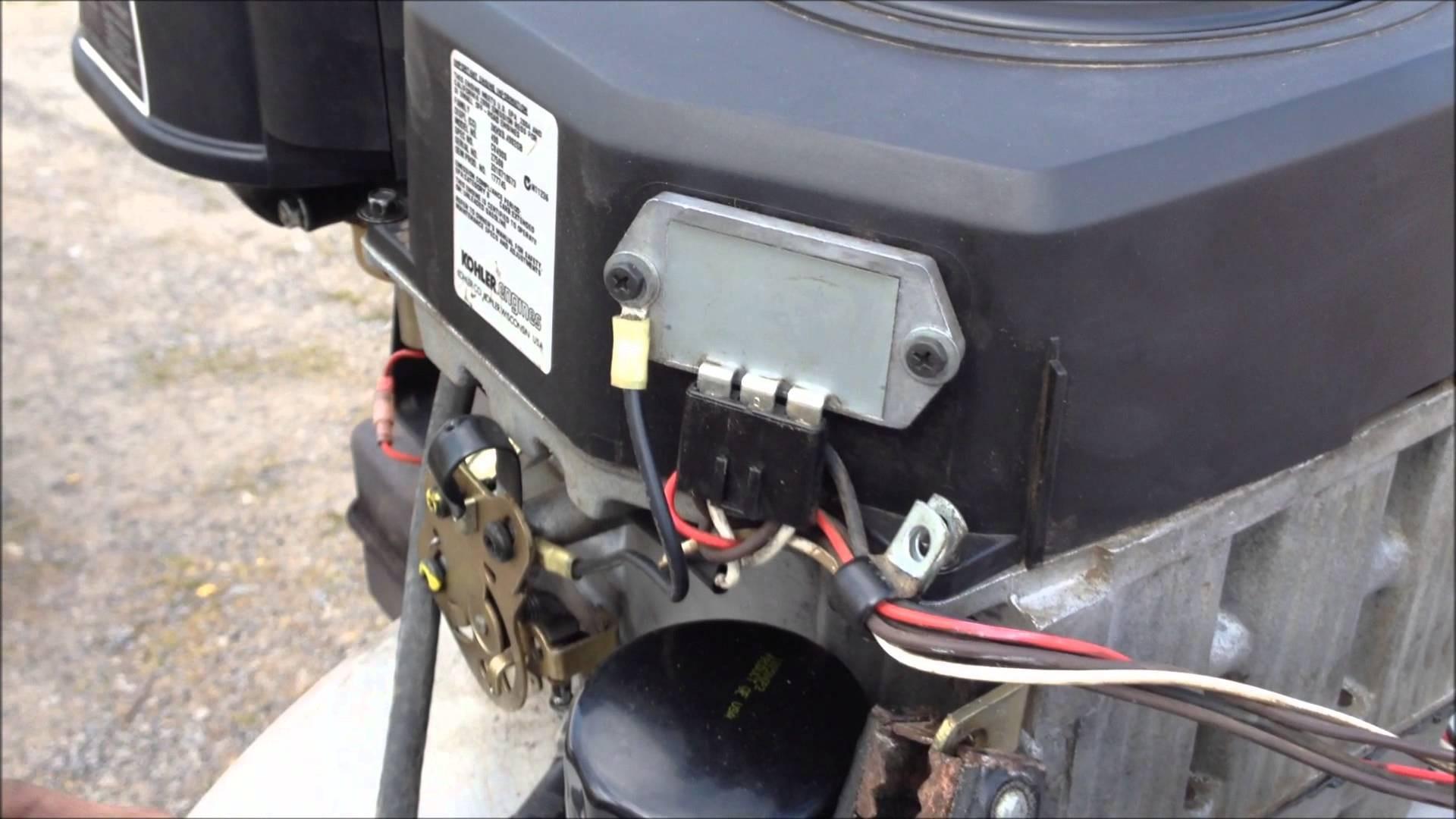 Kohler Engine Charging System Diagram Kohler 17hp Of Kohler Engine Charging System Diagram