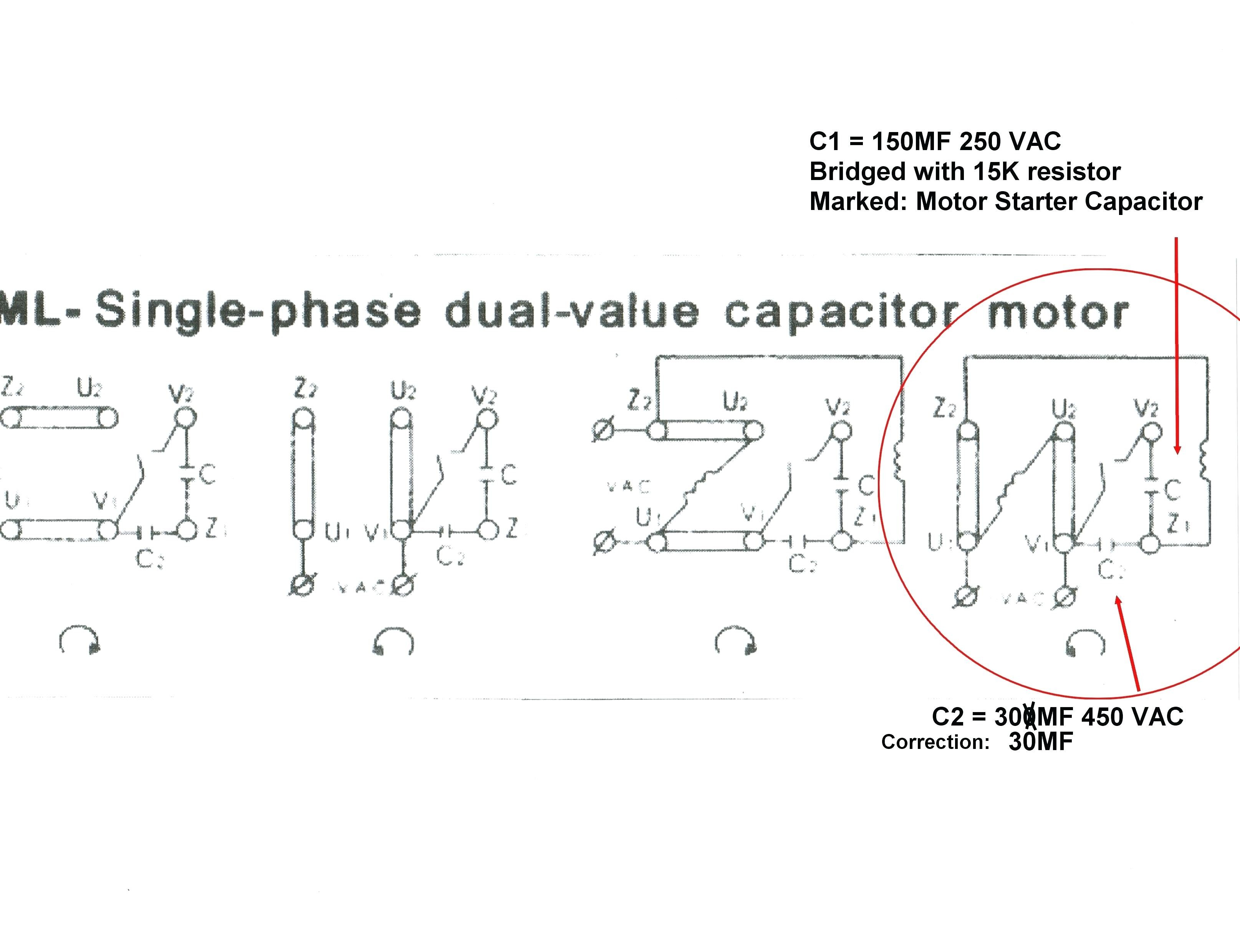 Leeson Electric Motor Wiring Diagram Dayton Test Youtube Baldor Single Phase This Is A Picture Motors