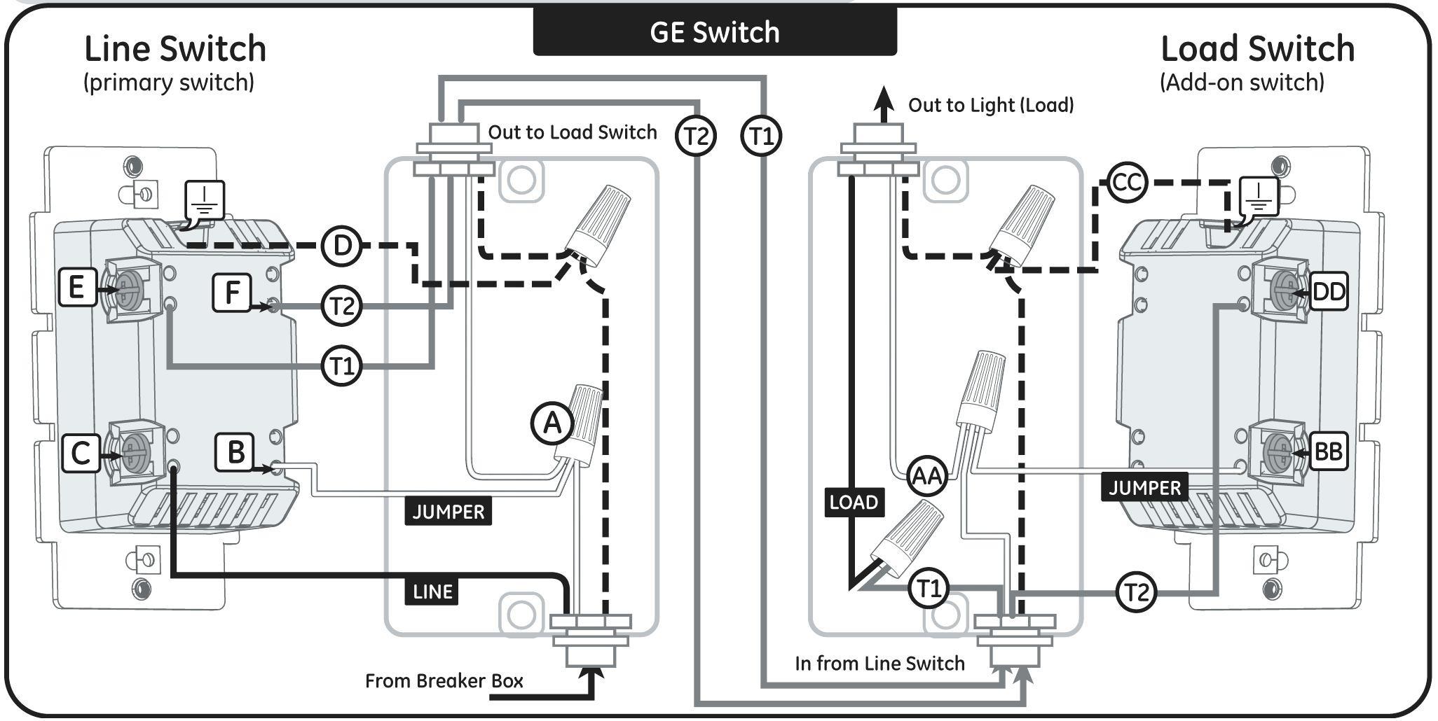 Leviton 3 Way Dimmer Wiring Diagram E Way Dimmer Switch Wiring