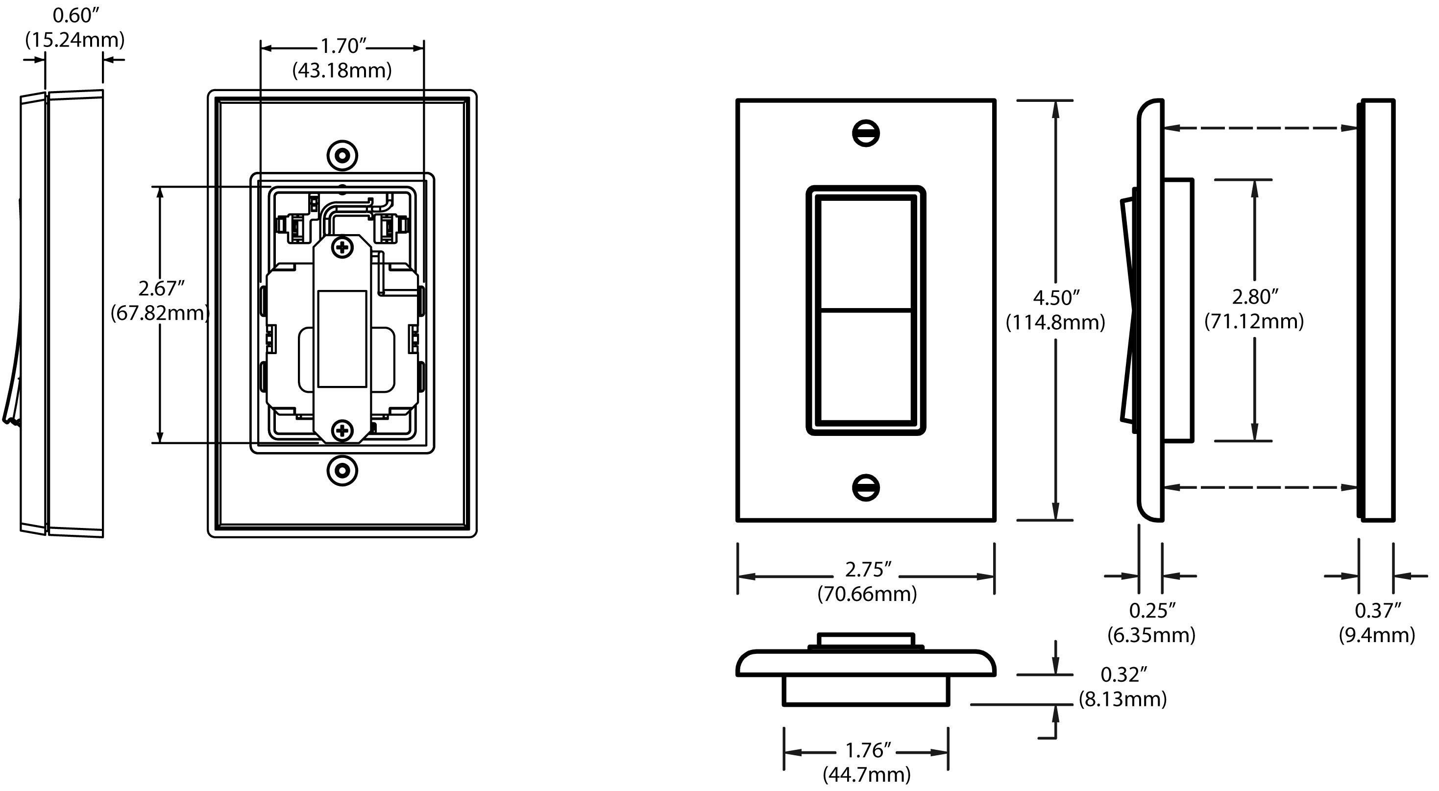 Leviton 3 Way Switch Wiring Diagram Rocker 3 Way Switch Tricky ...