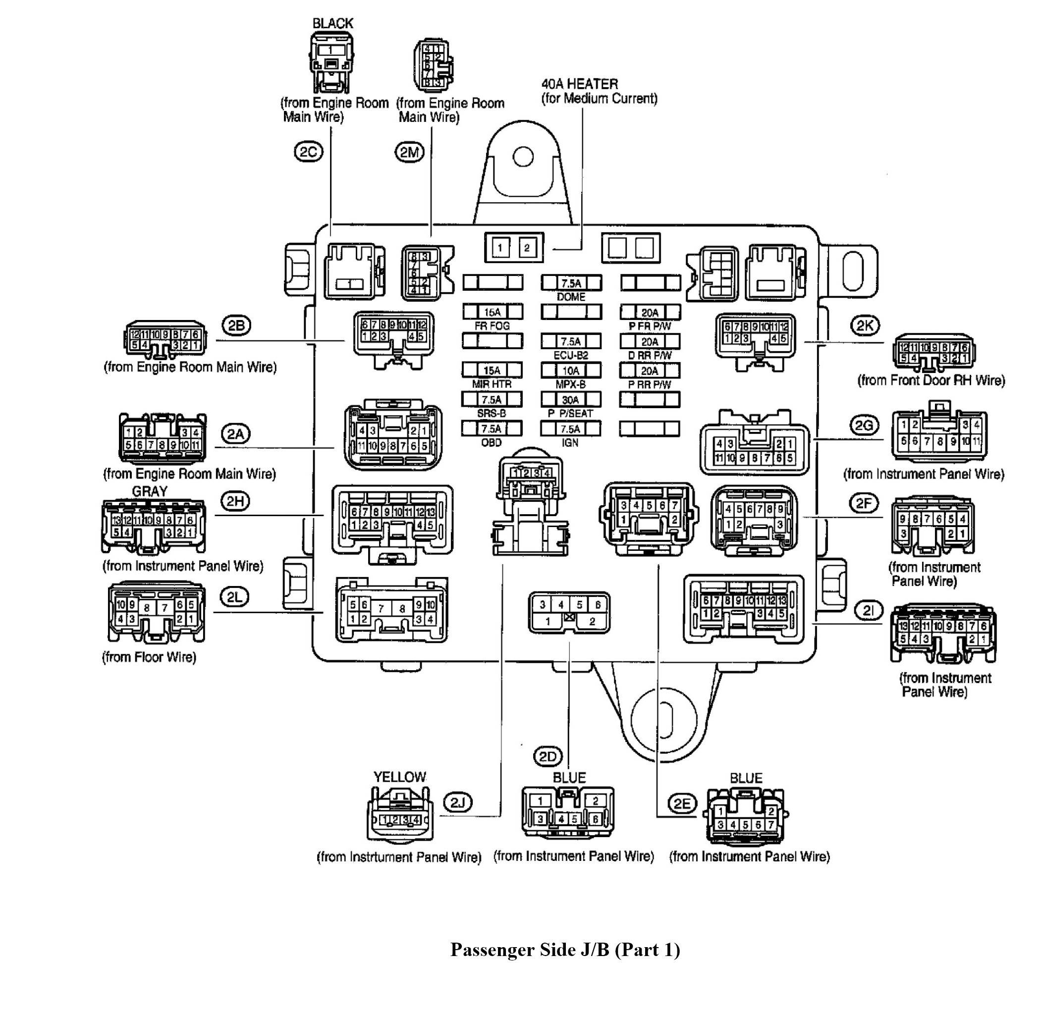 Lexus Fuse Diagram - Data Wiring Diagrams
