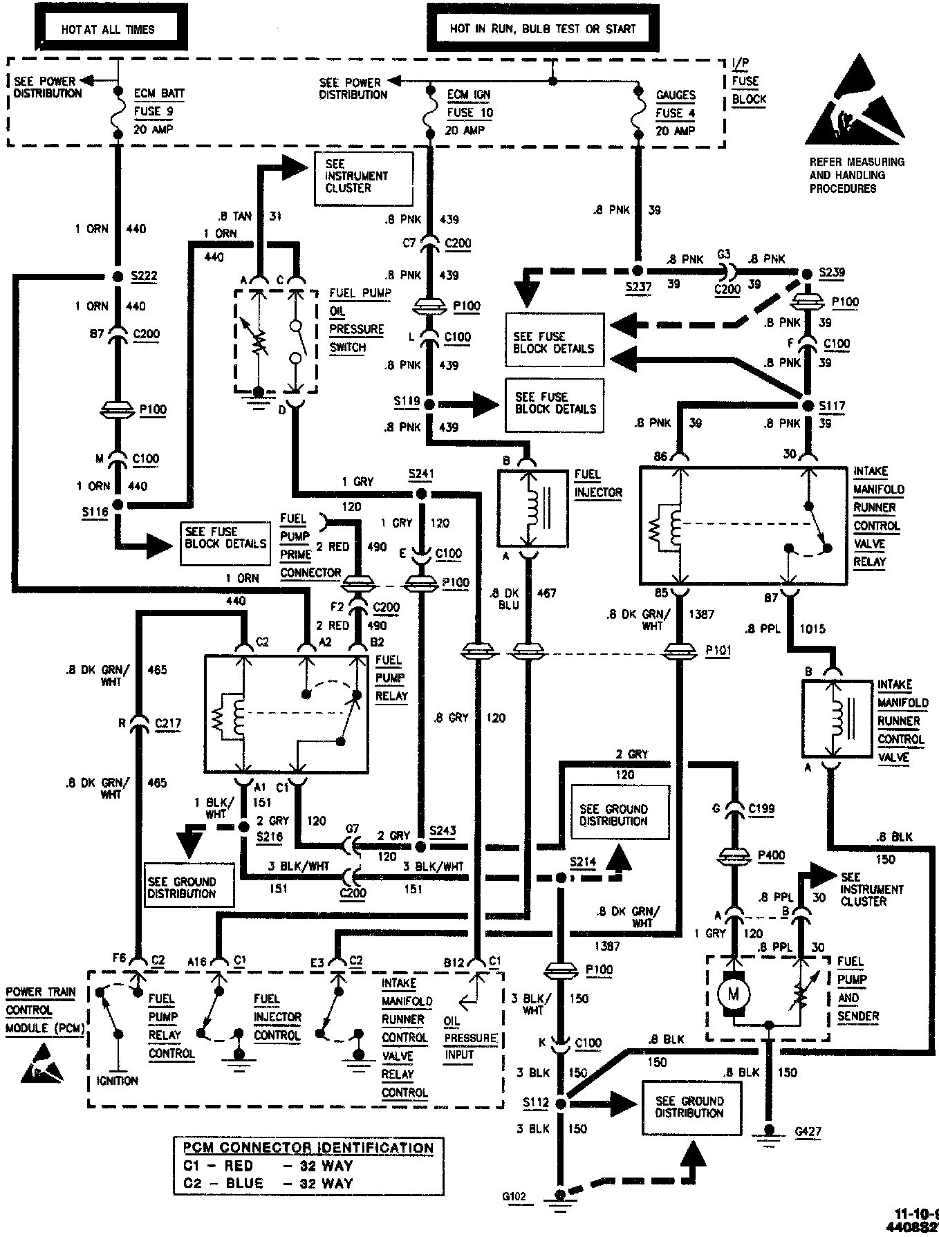 chevy truck fuel system diagram