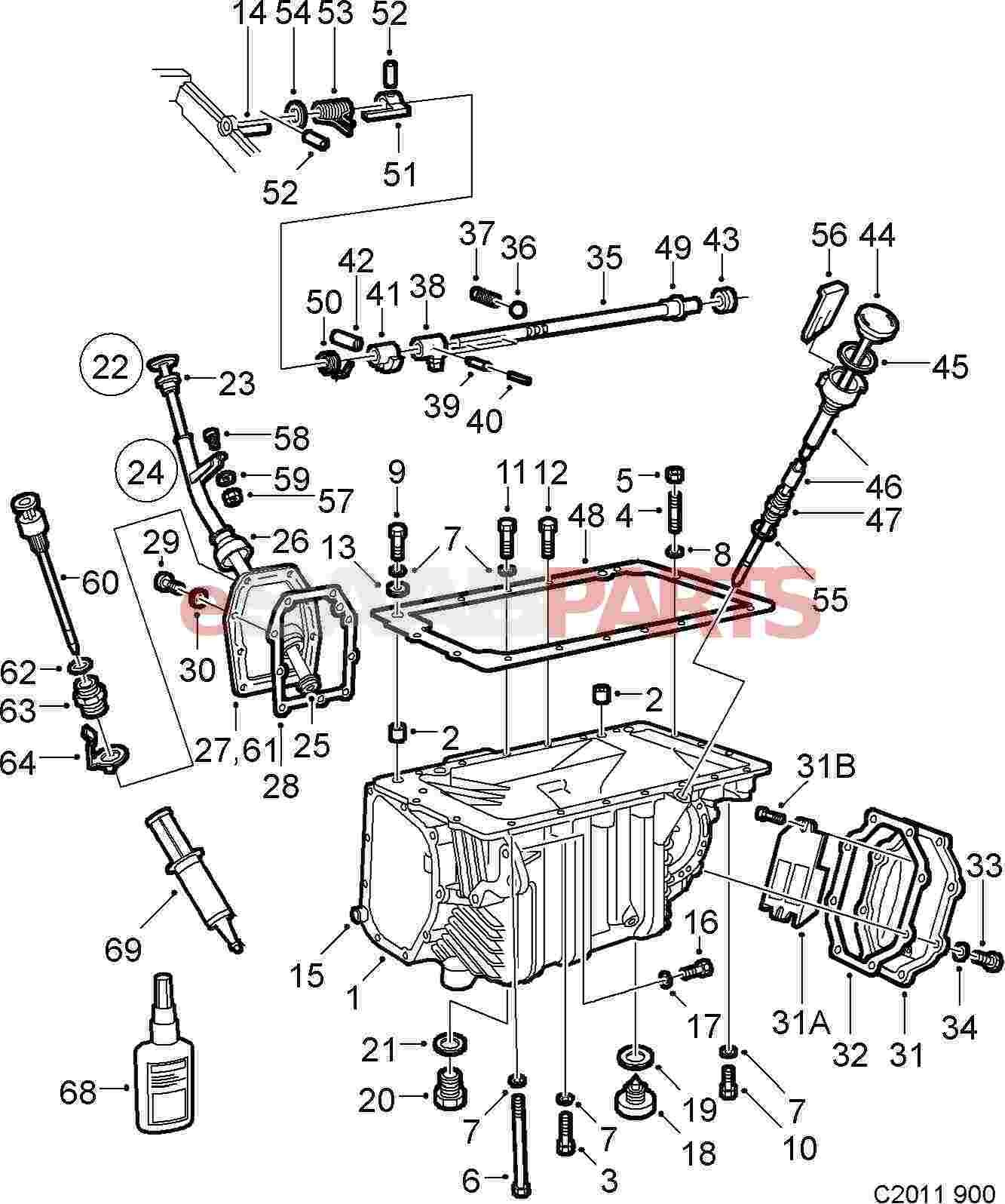 manual gearbox diagram