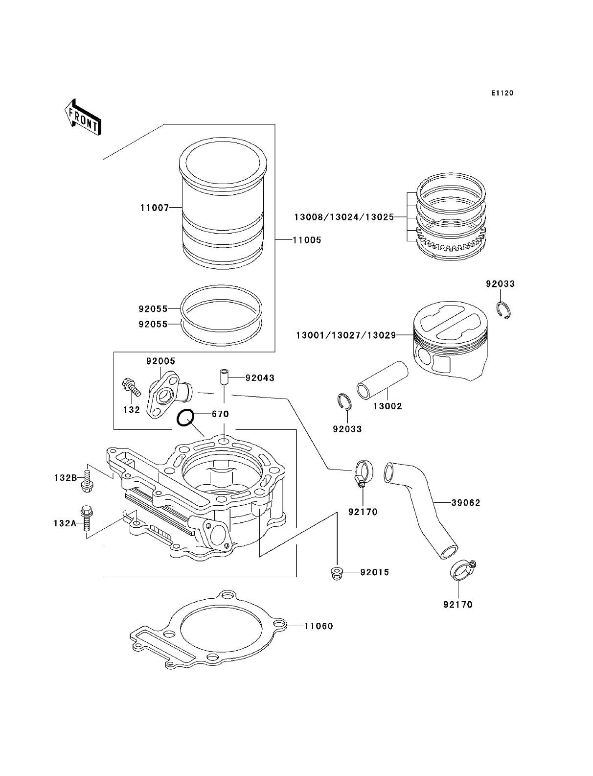 Master Cylinder Parts Diagram Kawasaki Klr250 Kawasaki Klr250 Parts Diagrams Of Master Cylinder Parts Diagram