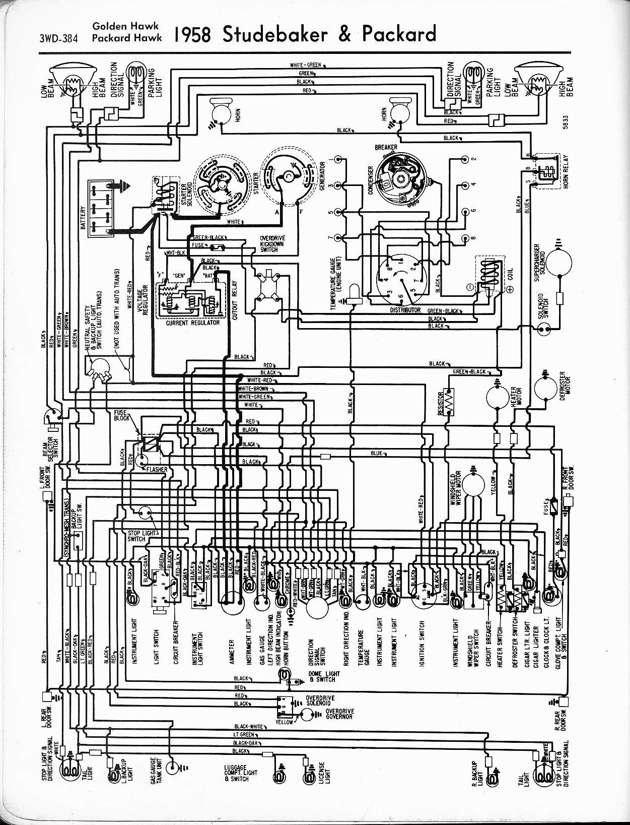 Mercedes Car Wiring Diagram 18 Free Schematic And For Studebaker Technical Help Studebakerparts Of
