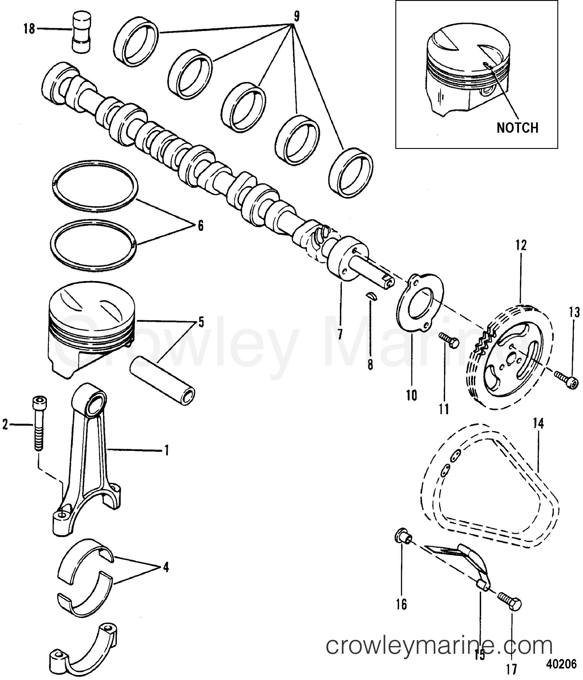 Mercruiser 470 Engine Diagram Camshaft and Piston 1983 Mercruiser 470 Of Mercruiser 470 Engine Diagram