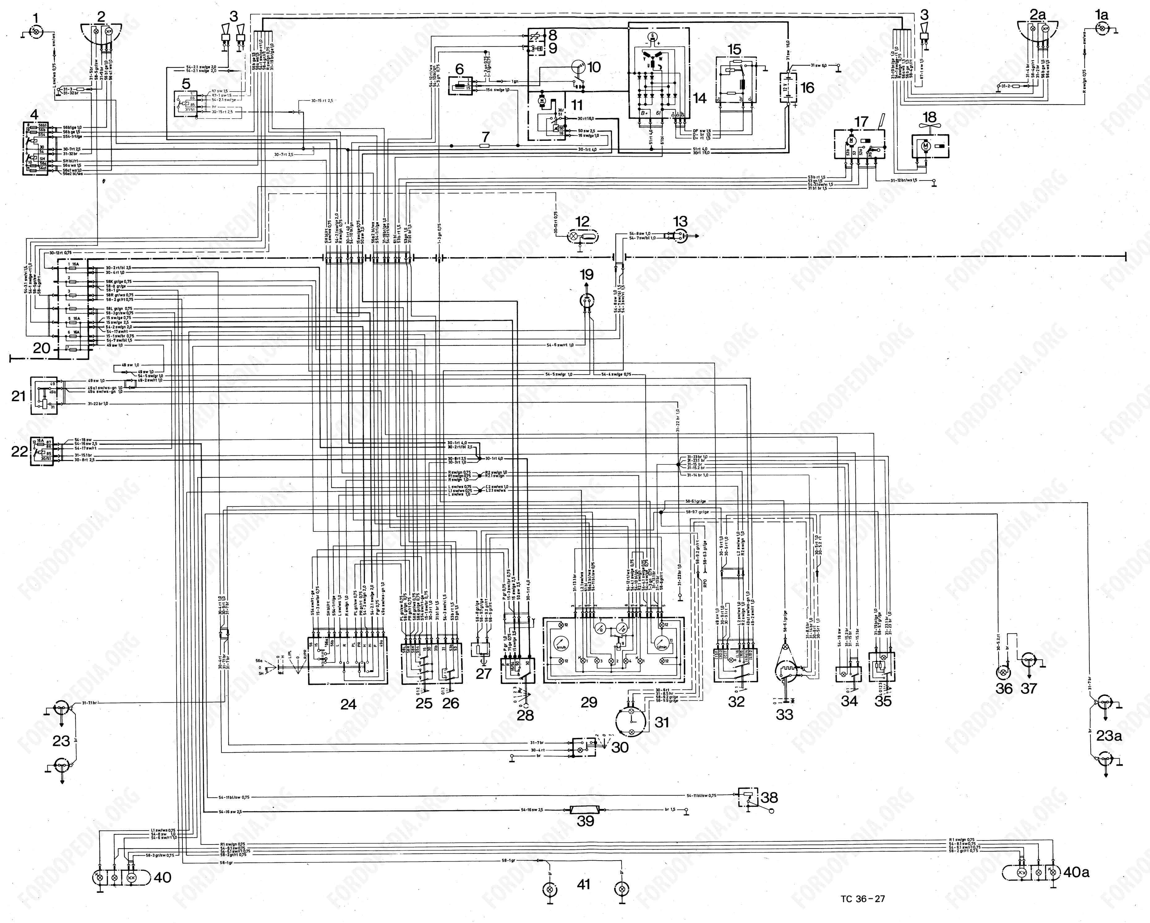 Ford 4 0 Ohv Engine Diagram Wiring 3 0l Libraryford