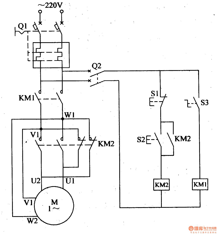 Motor Control Panel Wiring Diagram Wiring Diagram Single Phase Motor ...
