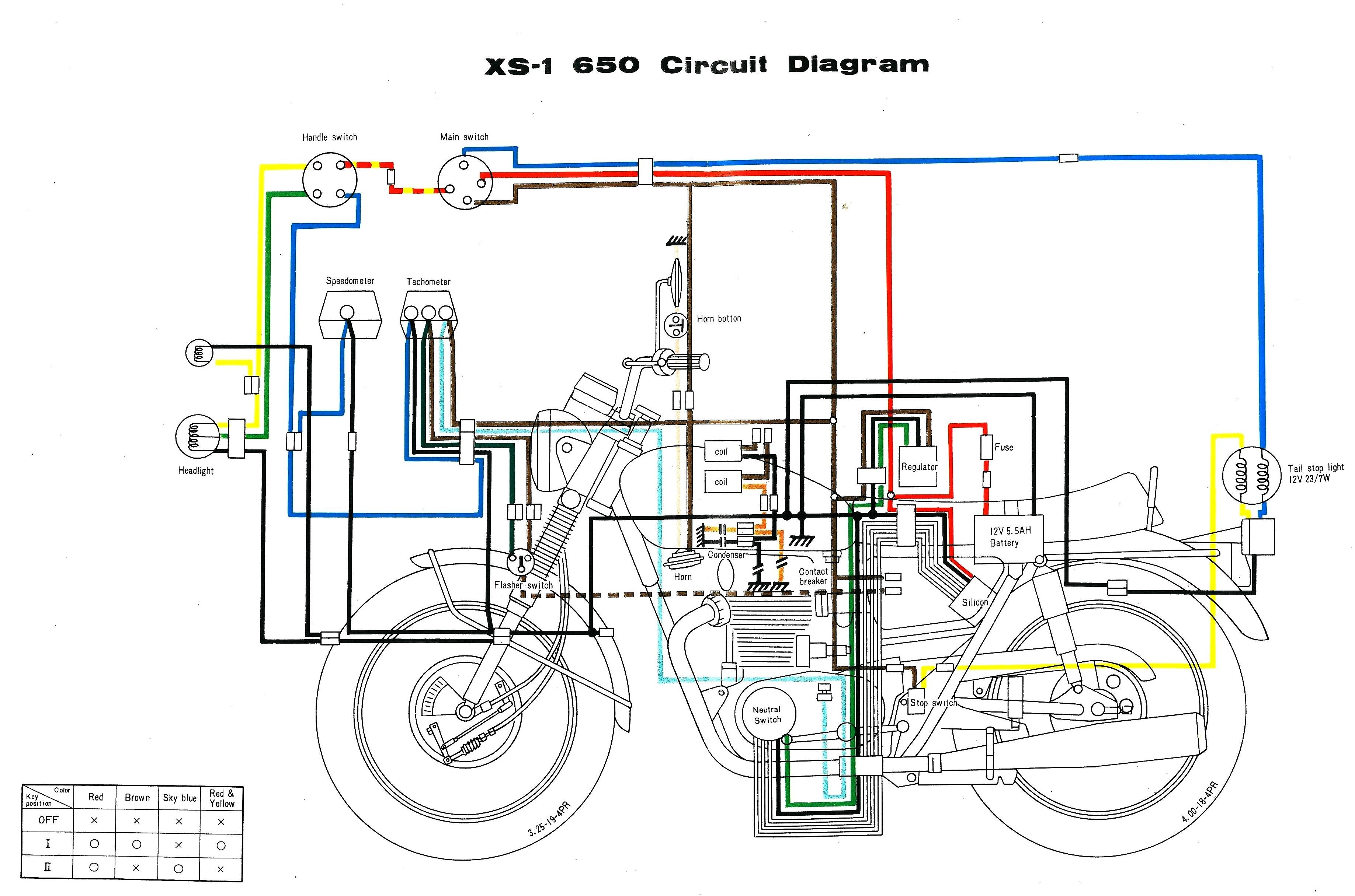 Motorcycle Electrical Wiring Diagram Wiring What S A Schematic Pared ...