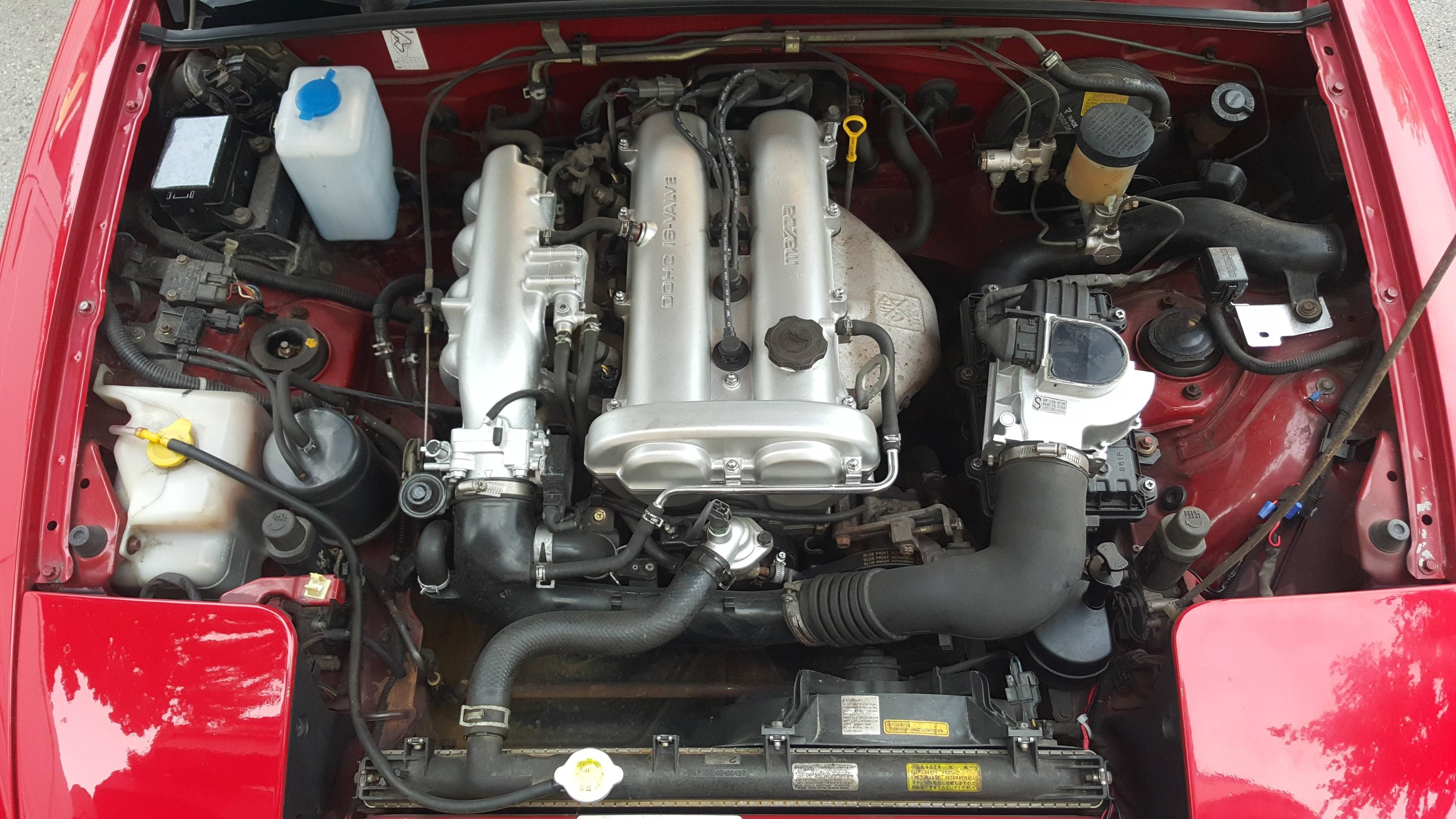 Na Miata Engine Bay Diagram