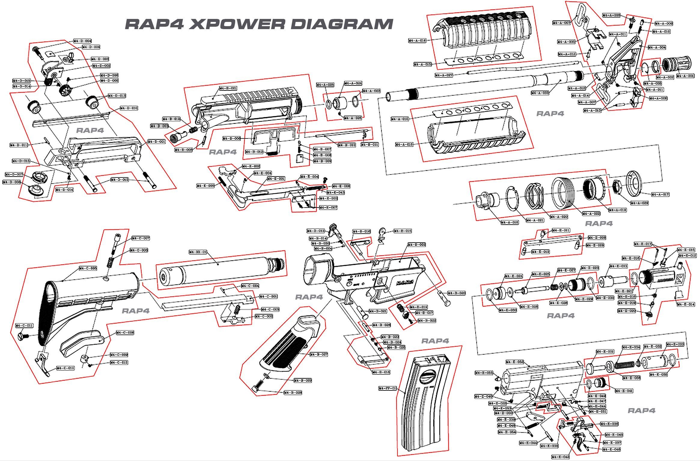 Names Of Car Parts Diagram M4 Carbine Schematic Military Pinterest Of Names Of Car Parts Diagram