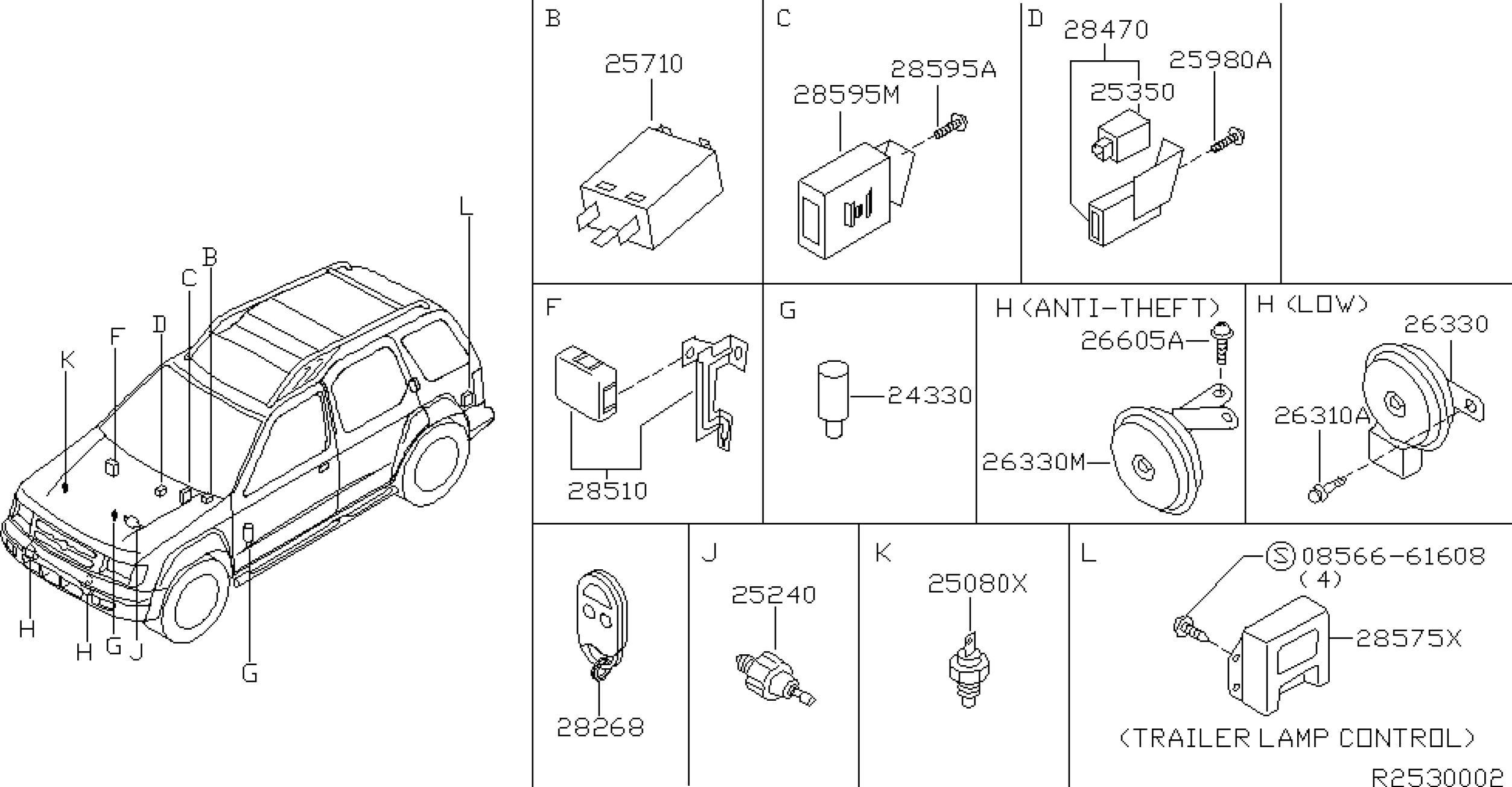 Nissan Xterra Engine Diagram 2001 Nissan Xterra Oem Parts Nissan Usa Estore Of Nissan Xterra Engine Diagram