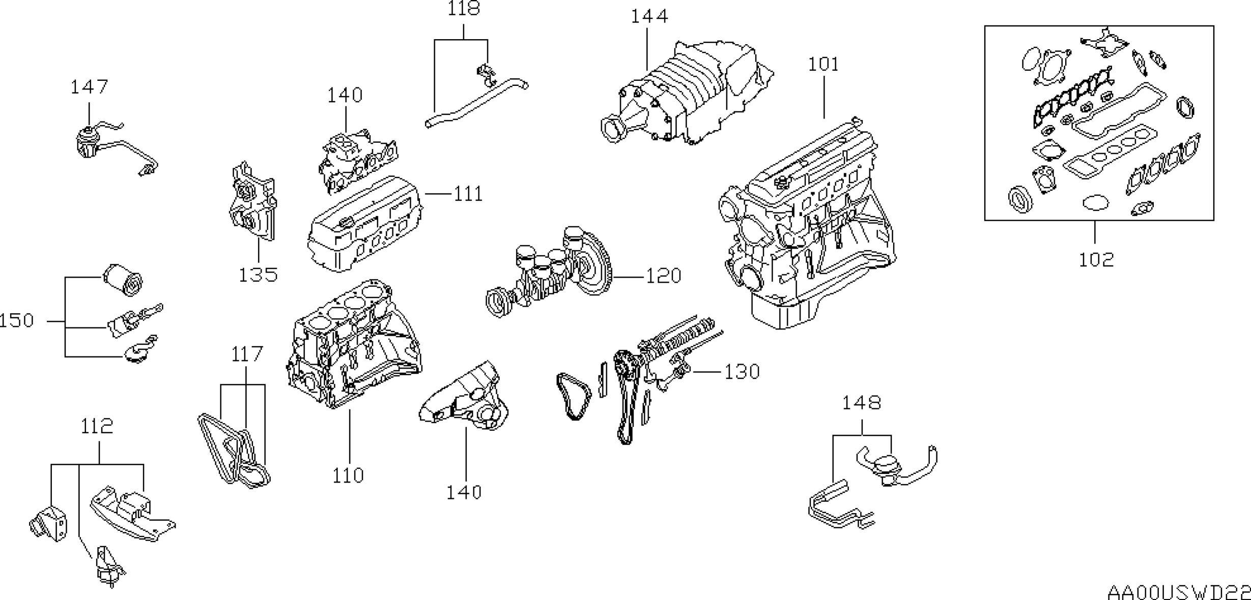 Nissan Xterra Engine Diagram 2002 Nissan Xterra Oem Parts Nissan Usa Estore Of Nissan Xterra Engine Diagram