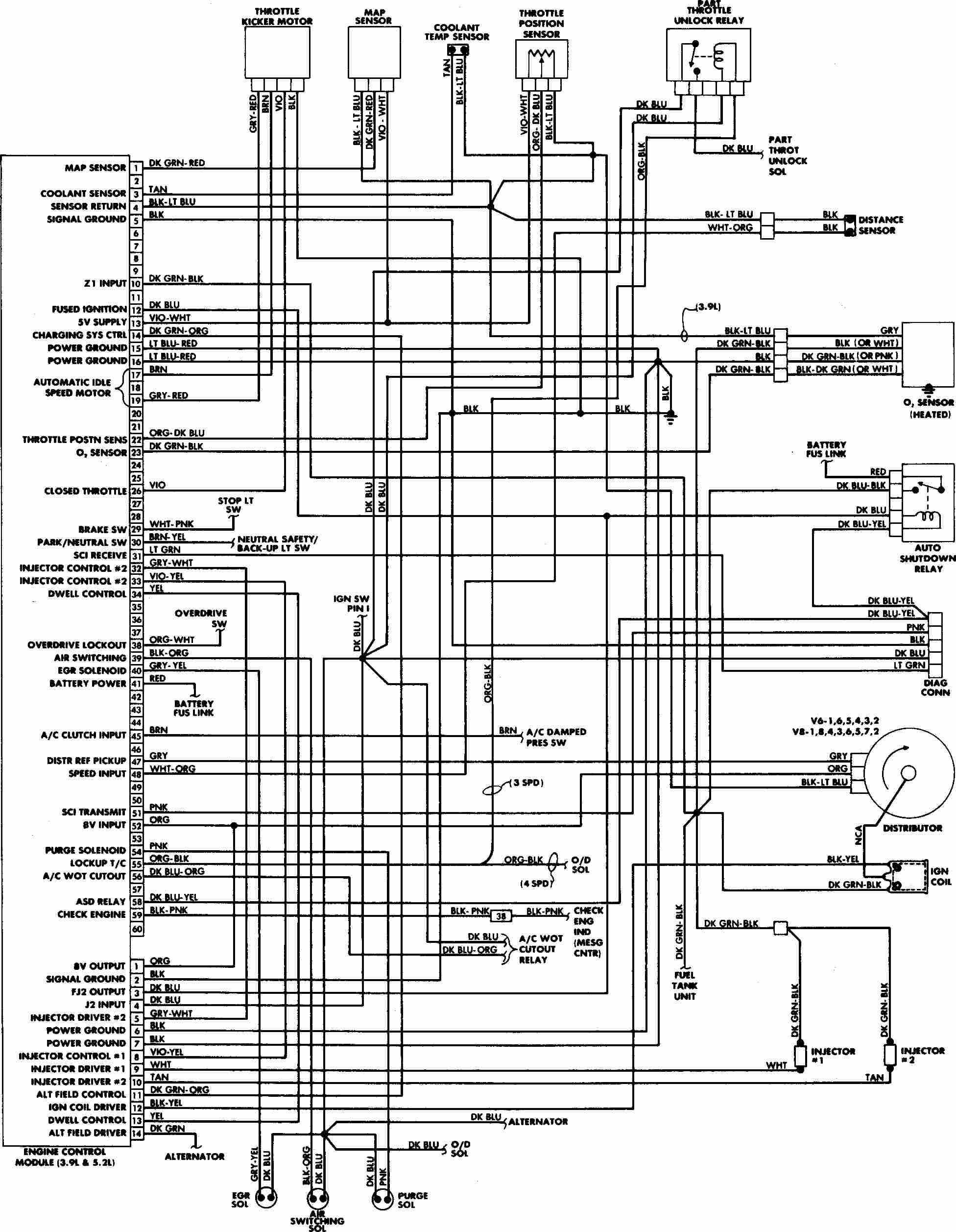 Obd2b Engine Harness Diagram Cl 1 Wiring Diagram Wiring Diagrams ...