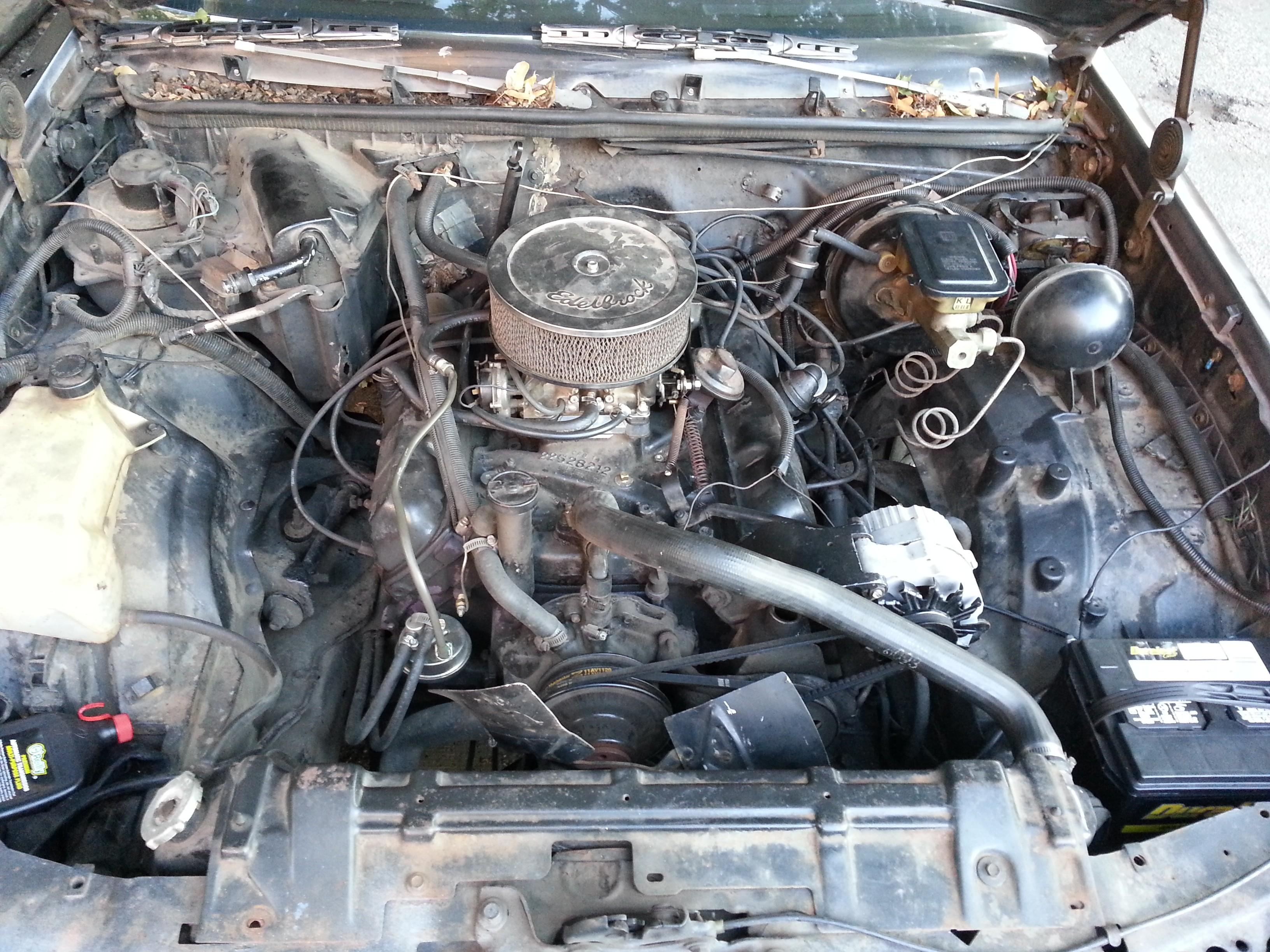 307 Oldsmobile Engine Diagram Together With 1984 Oldsmobile 307