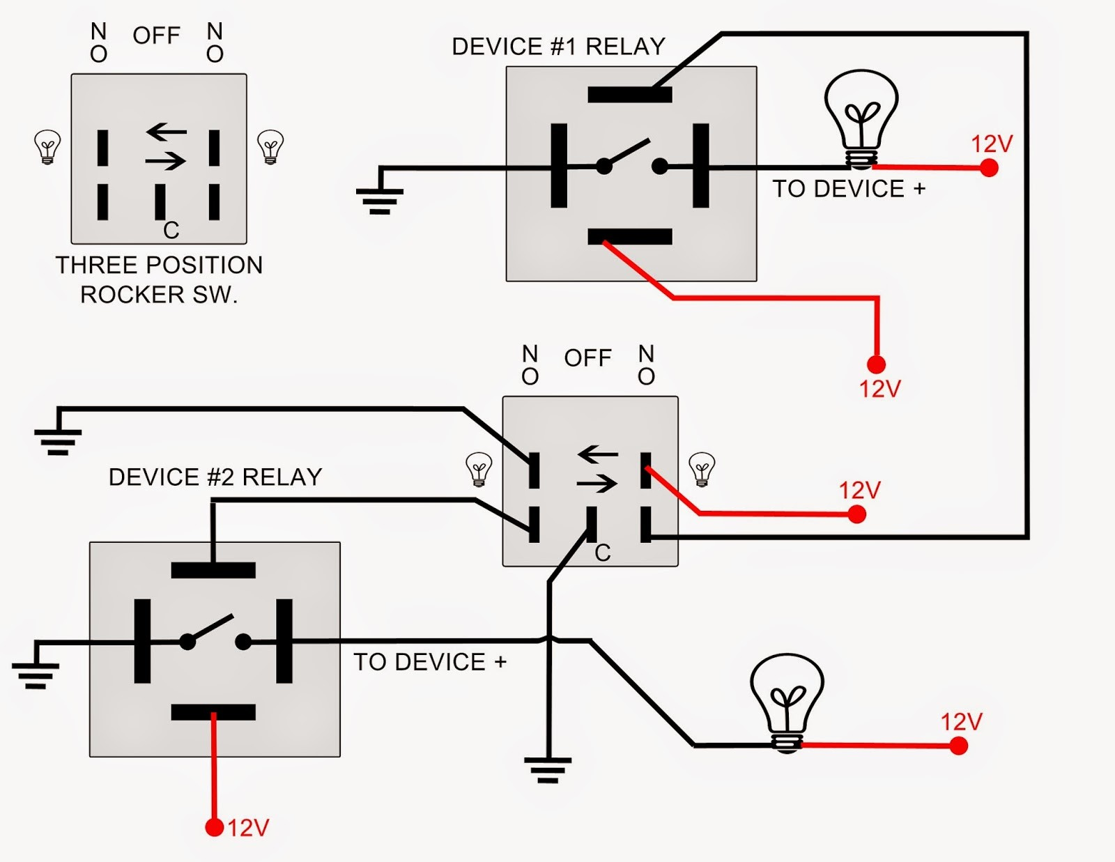 On Off On toggle Switch Wiring Diagram Switch and Wiring Led Lights Light Bar Lifetime Dpdt Wiring Of On Off On toggle Switch Wiring Diagram
