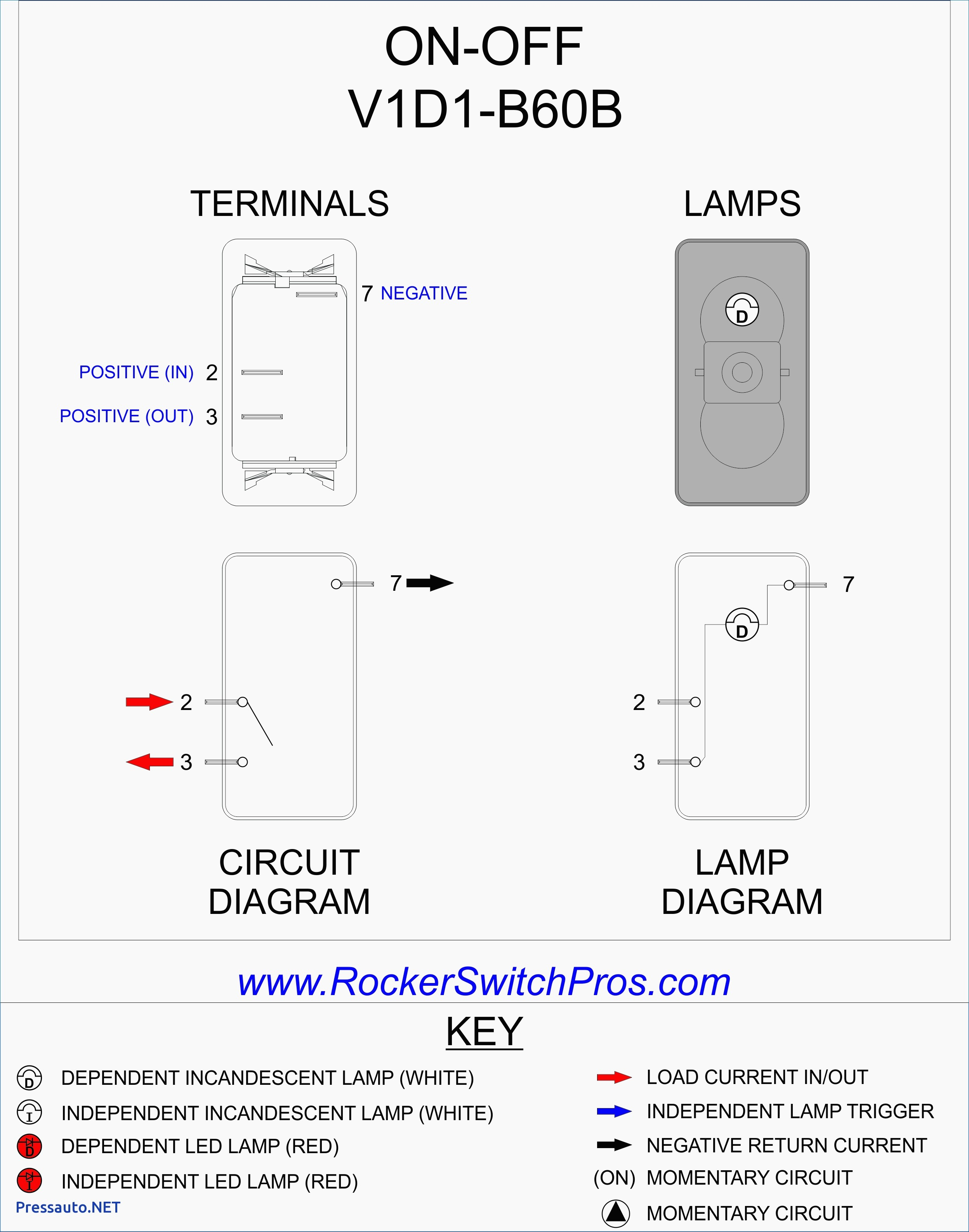 On Off On toggle Switch Wiring Diagram On Rocker Switch Ind Lamp ...