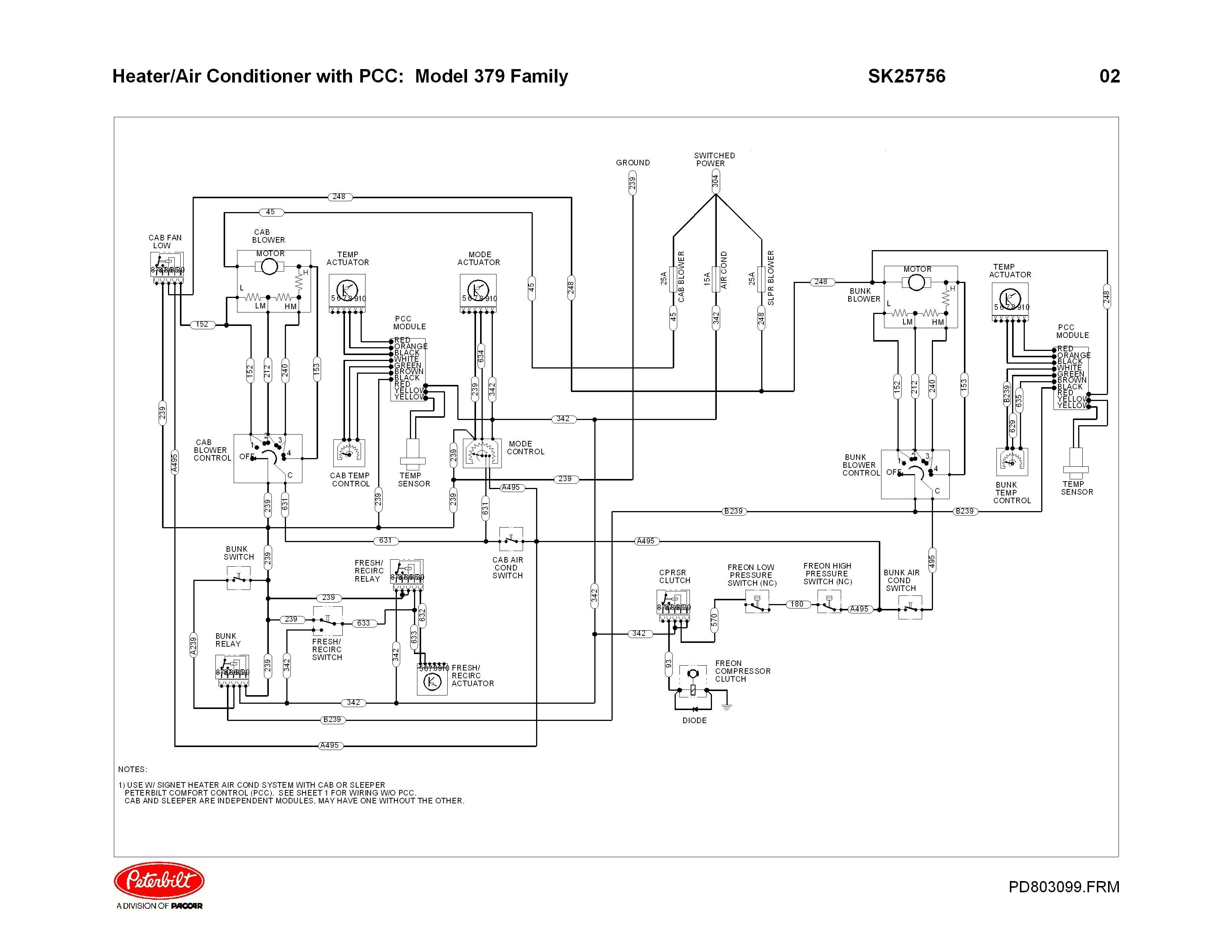 Peterbilt 379 Engine Fan Diagram | My Wiring DIagram