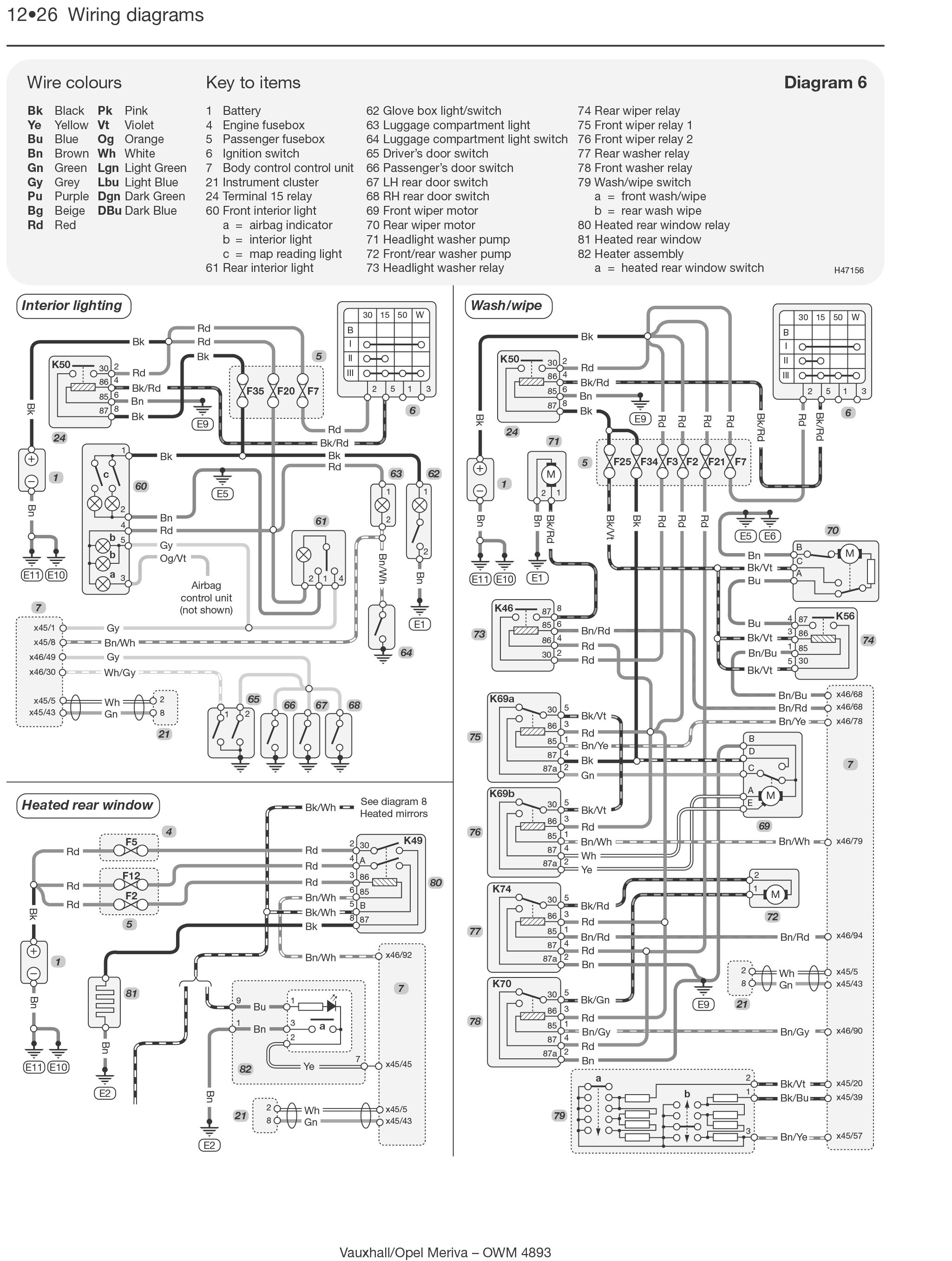 vauxhall zafira towbar wiring diagram online wiring diagram. Black Bedroom Furniture Sets. Home Design Ideas