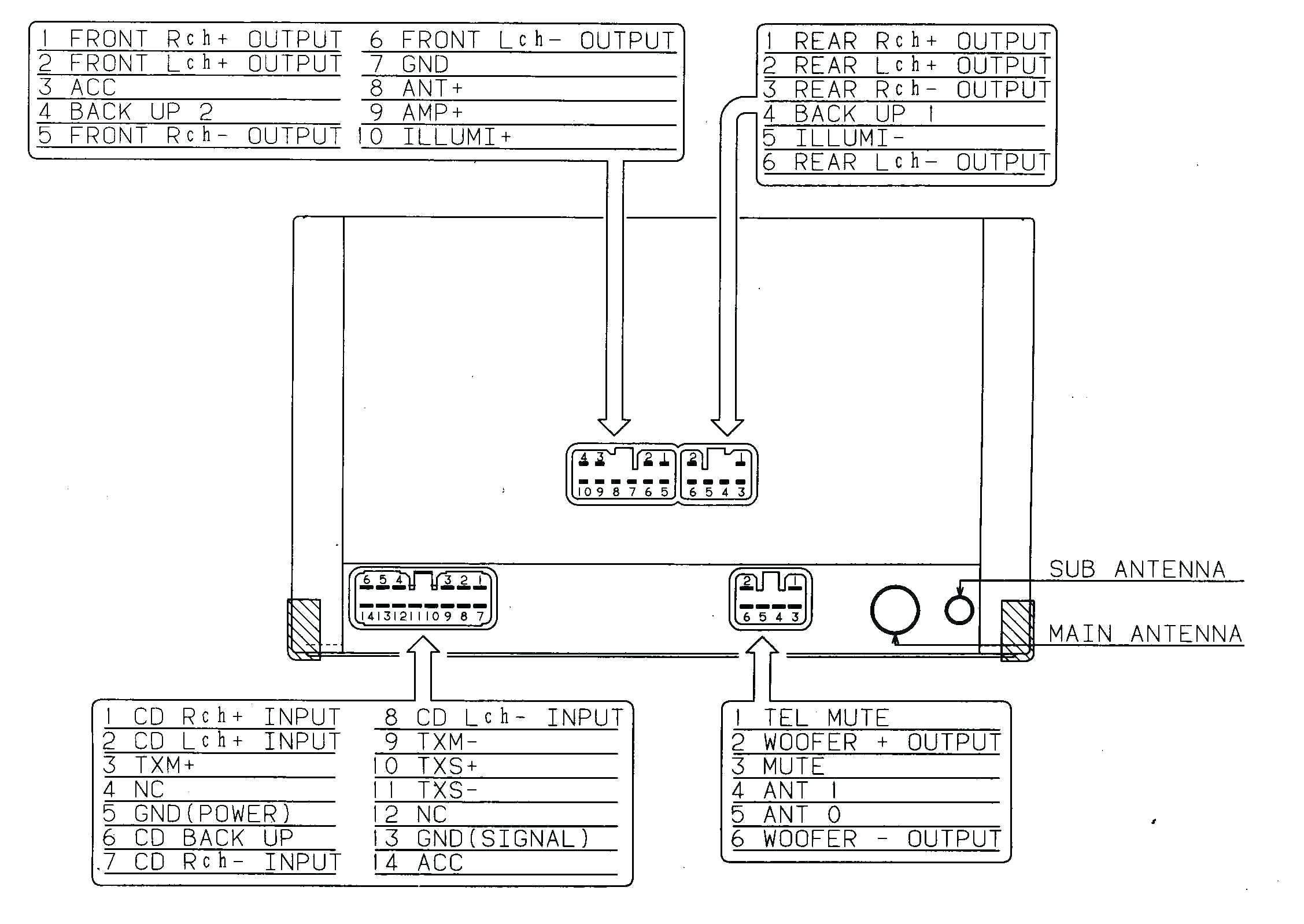 Pioneer Deh 1600 Wiring Diagram Pioneer Avic D3 Wiring Manual Harness Diagram with Amusing Esp Of Pioneer Deh 1600 Wiring Diagram