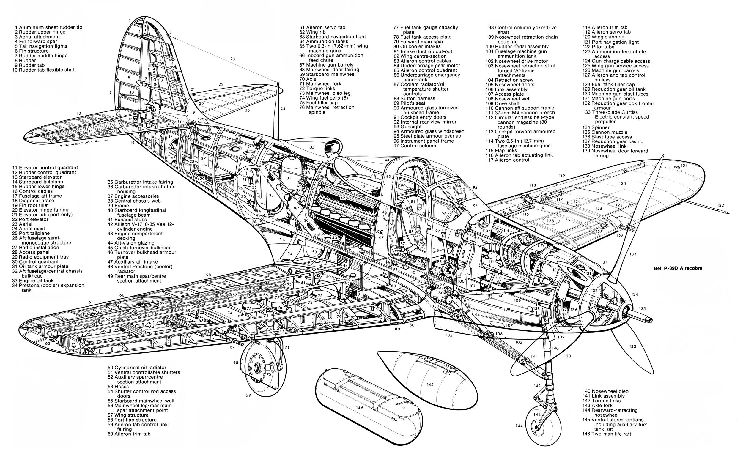 Plane Engine Diagram Bell39d1 2500—1741 Diagrams and Cutaways Of Plane Engine Diagram