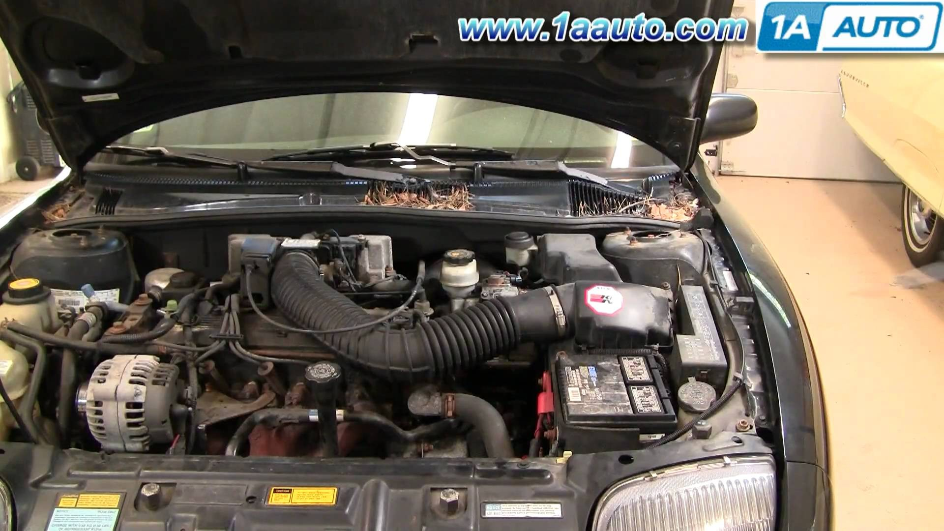 Pontiac Sunfire Engine Diagram My Wiring 1997 How To Install Replace Intake Hose Chevy Cavalier 95 97 1aauto