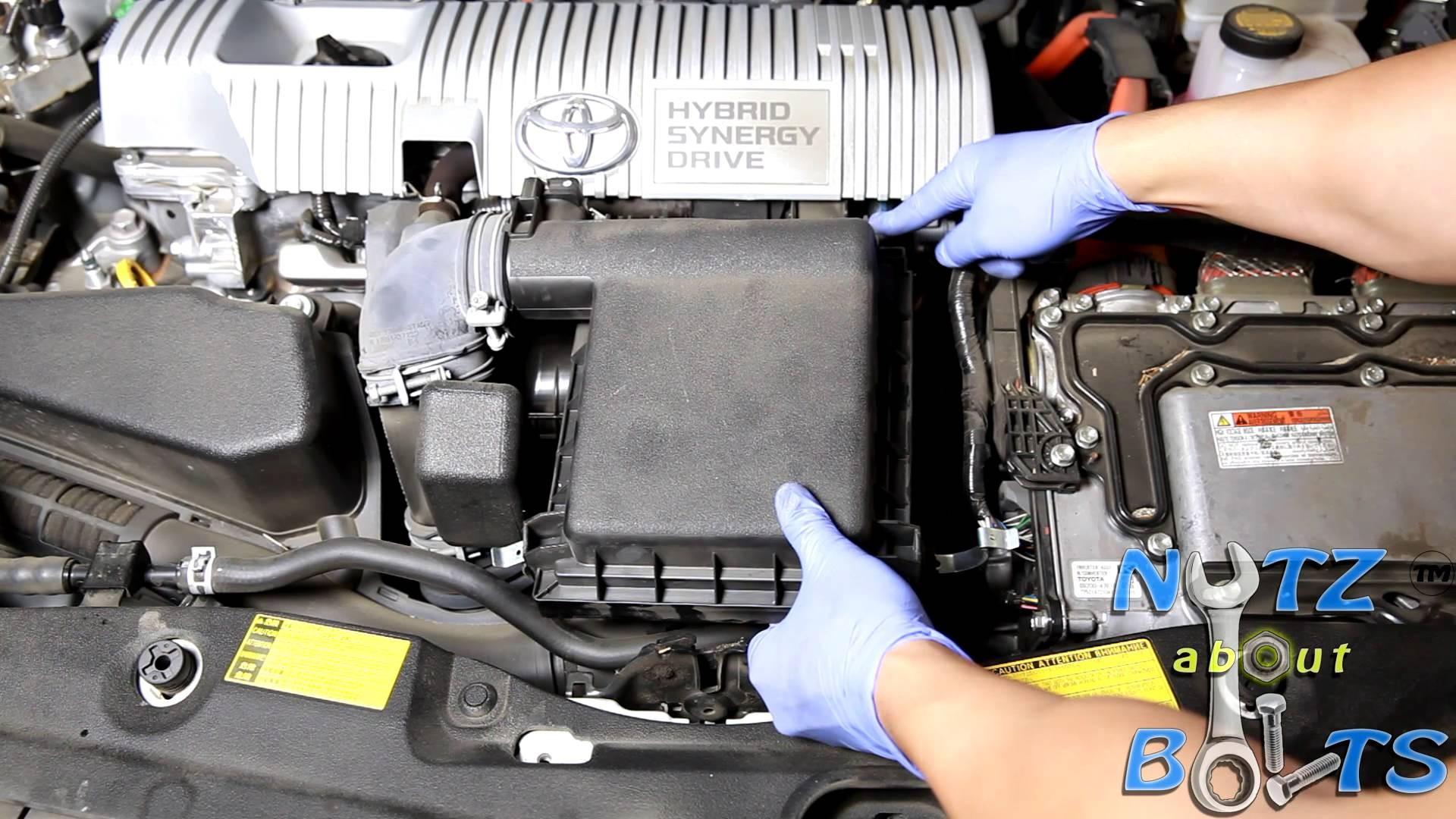 Prius Engine Diagram 2010 2015 toyota Prius Engine Air Filter Replacement Of Prius Engine Diagram