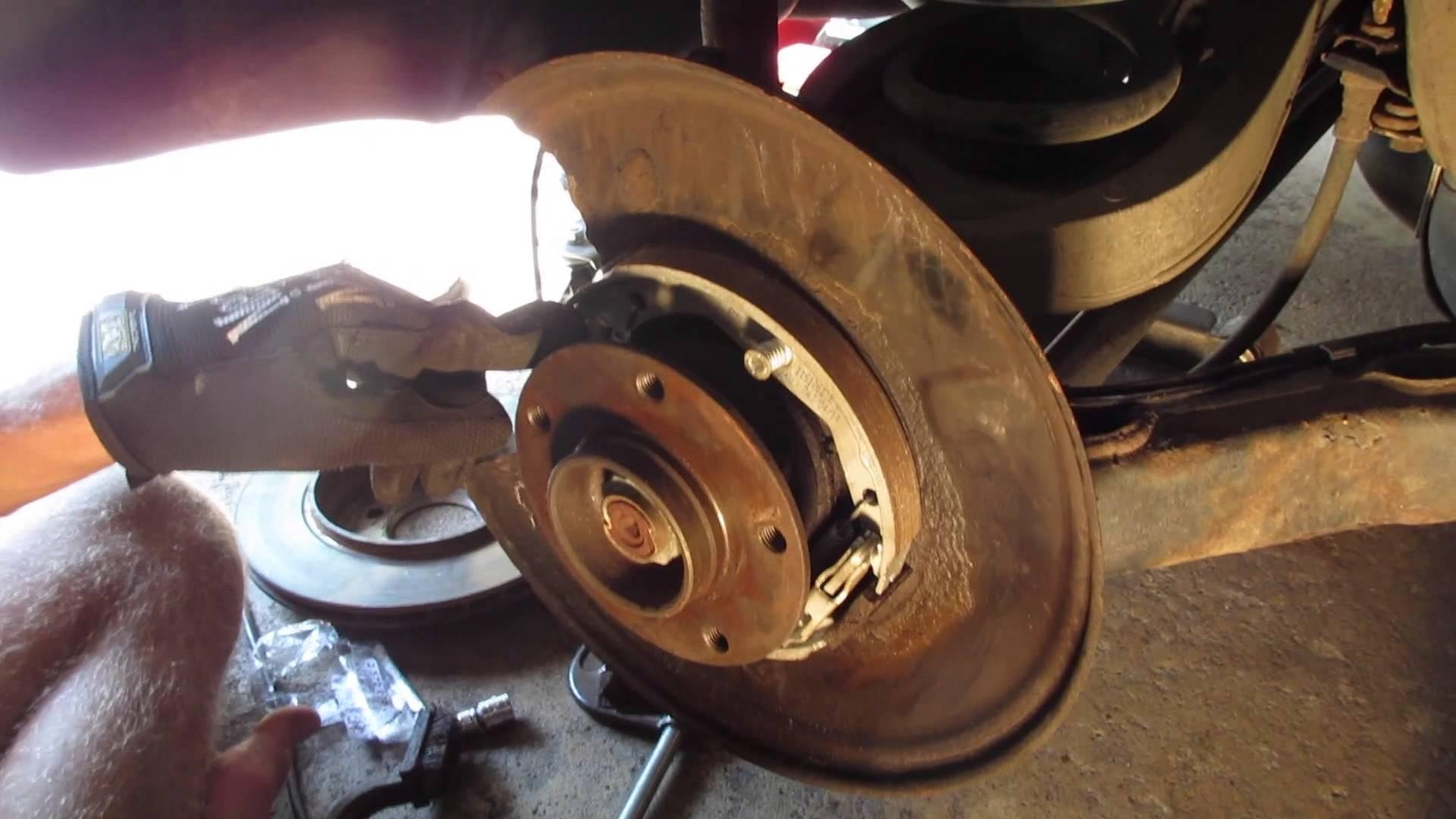 Rear Brake Shoes Diagram Bmw E46 E39 Parking Brake Rebuild Diy