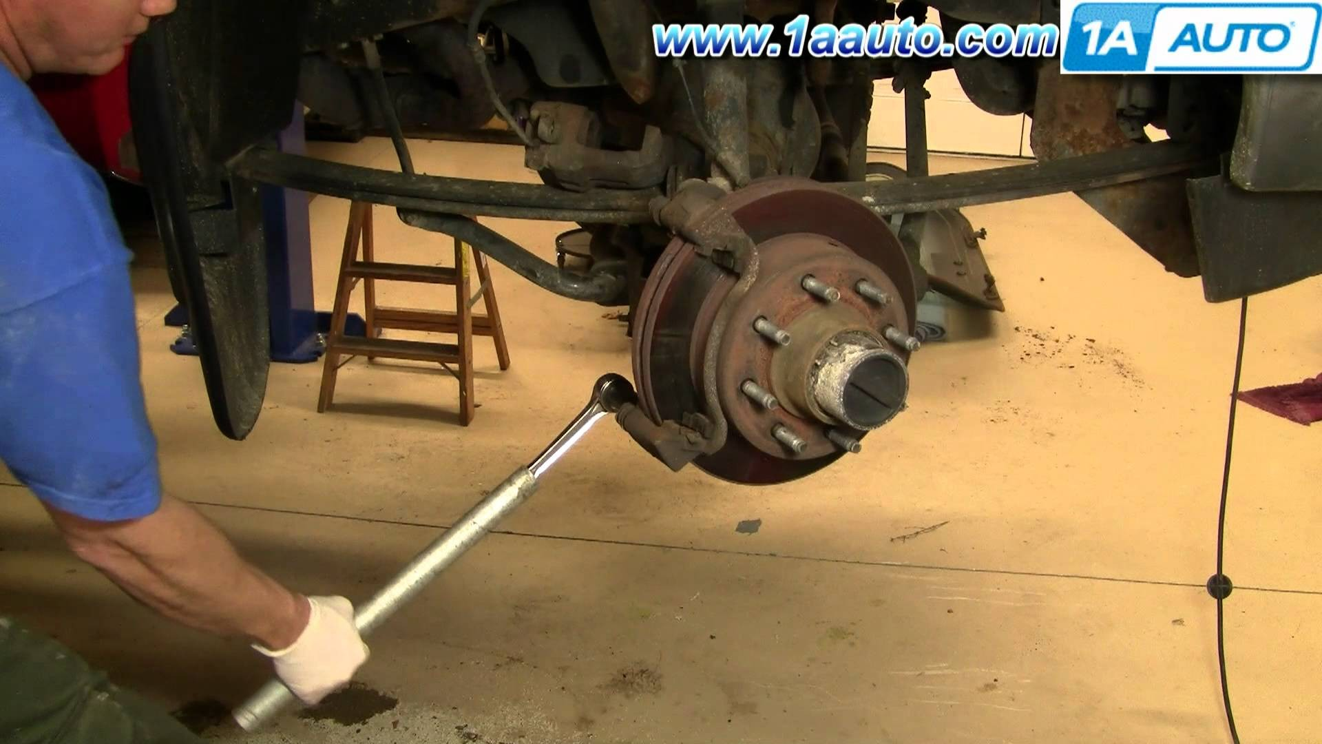 Rear Brake Shoes Diagram How to Install Replace Front Brakes ford F250 F350 Super Duty 00 04 Of Rear Brake Shoes Diagram