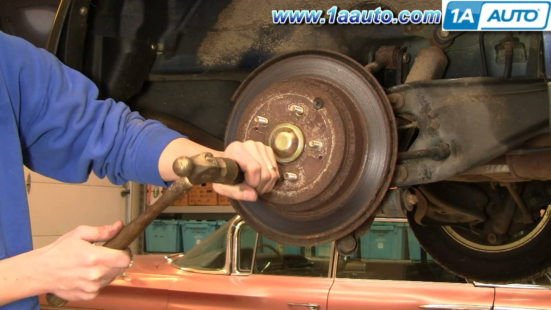 Rear Brake Shoes Diagram How to Install Replace Rear Brakes Honda Odyssey 99 04 1aauto Of Rear Brake Shoes Diagram