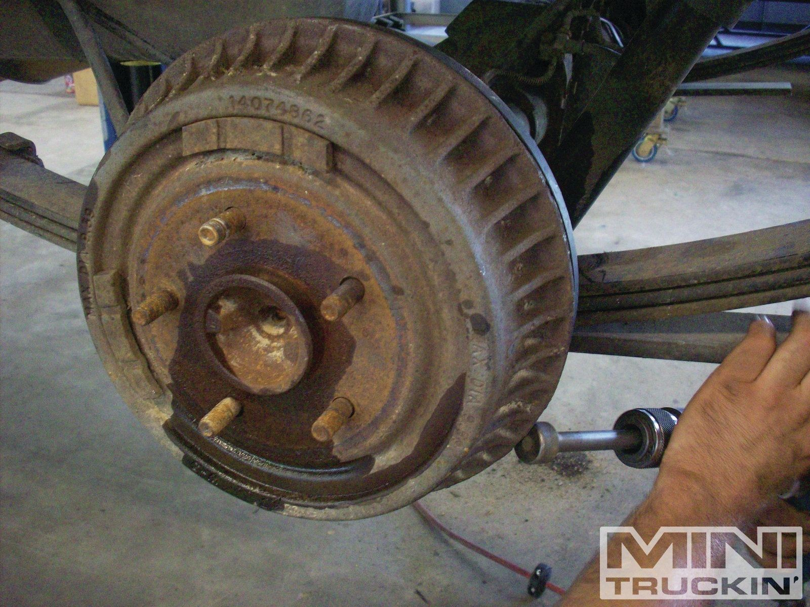 Rear Drum Brake Diagram Chevy S10 Rear Disc Brake Conversion bye bye to Dumb Drums Mini Of Rear Drum Brake Diagram