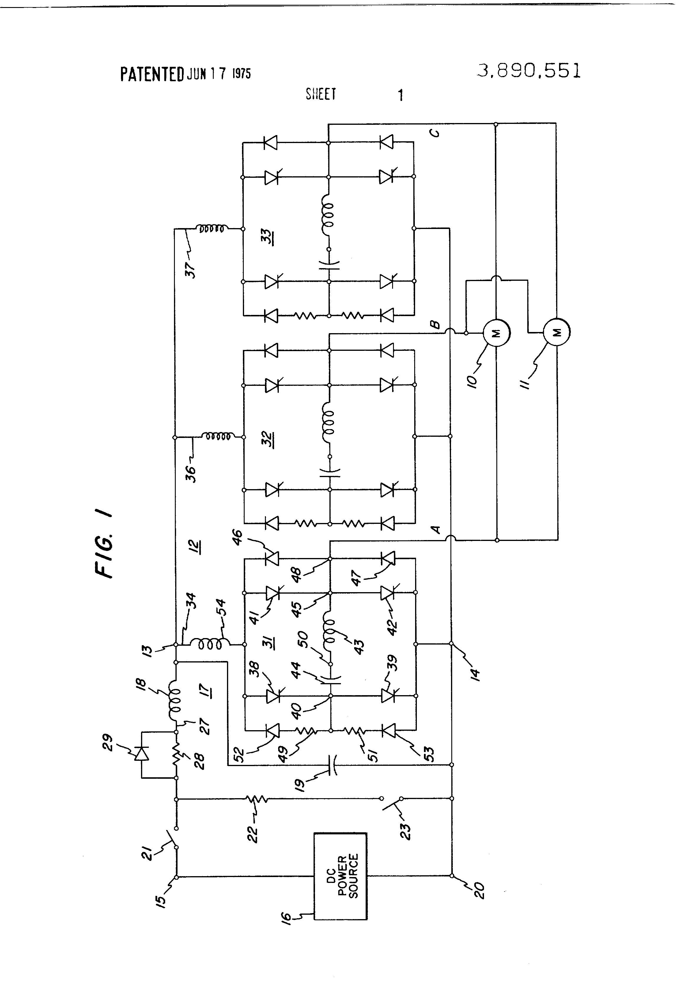 regenerative braking circuit diagram