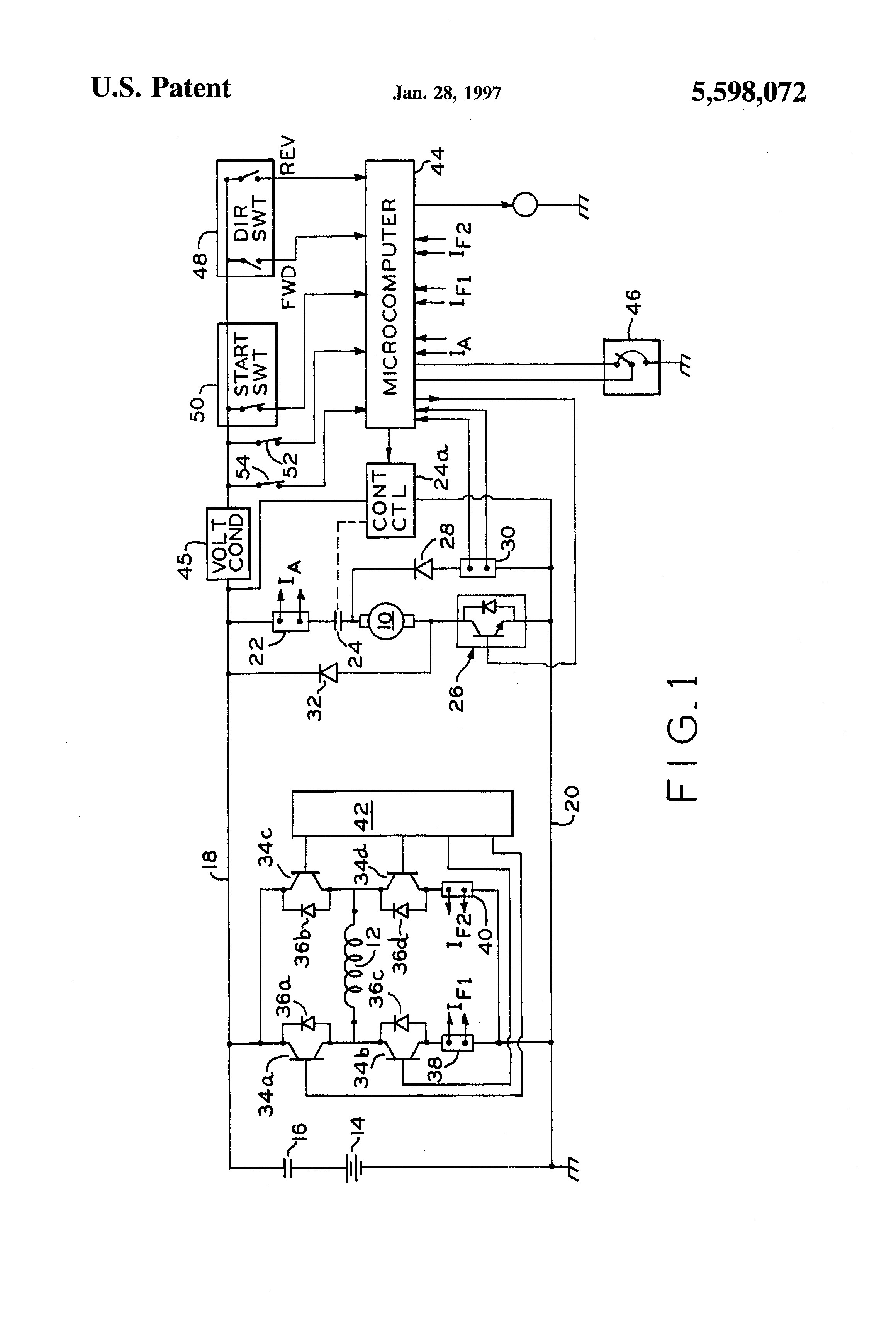 regenerative braking circuit diagram