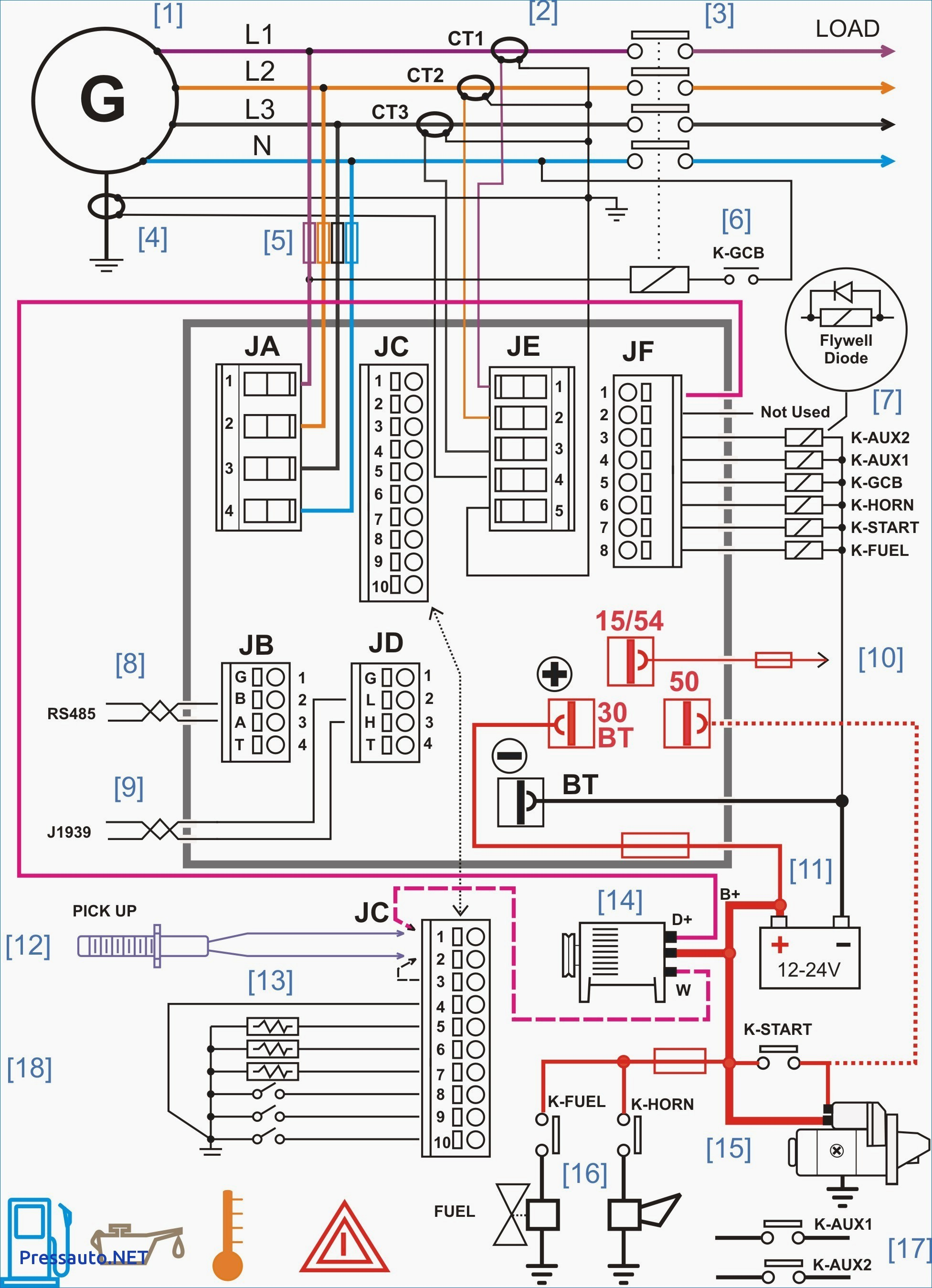 Reliance Generator Transfer Switch Wiring Diagram Stunning Portable ...