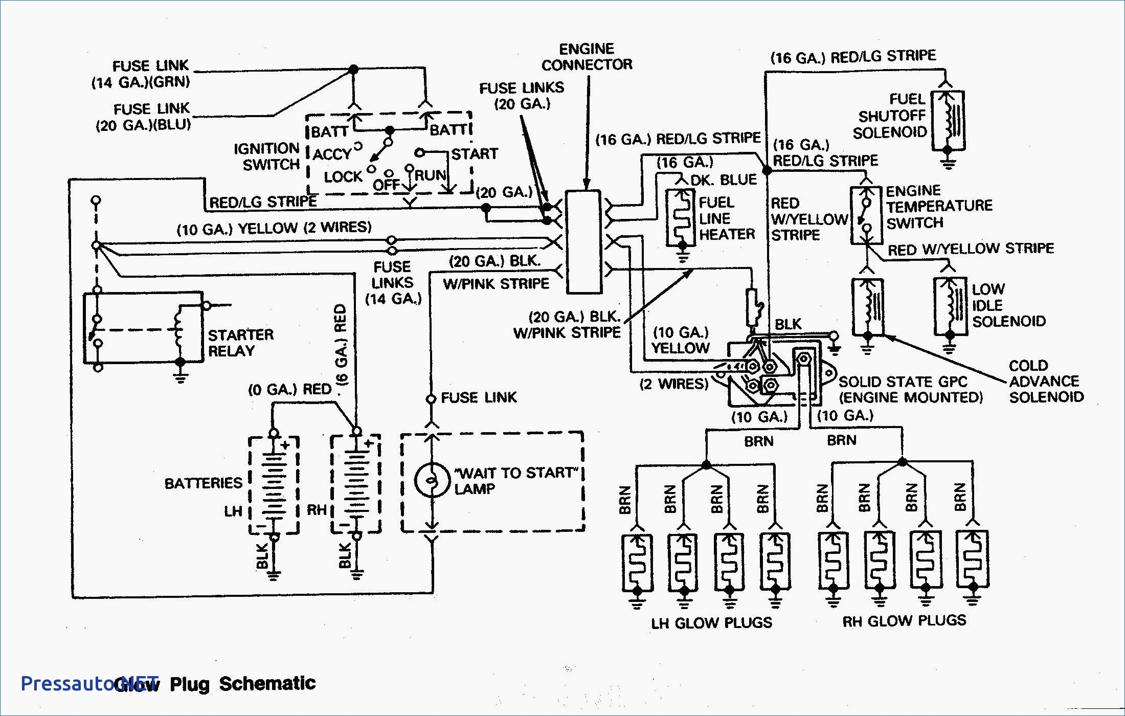 Dt466e Wiring Glow Plug Diagram - WIRE Center •