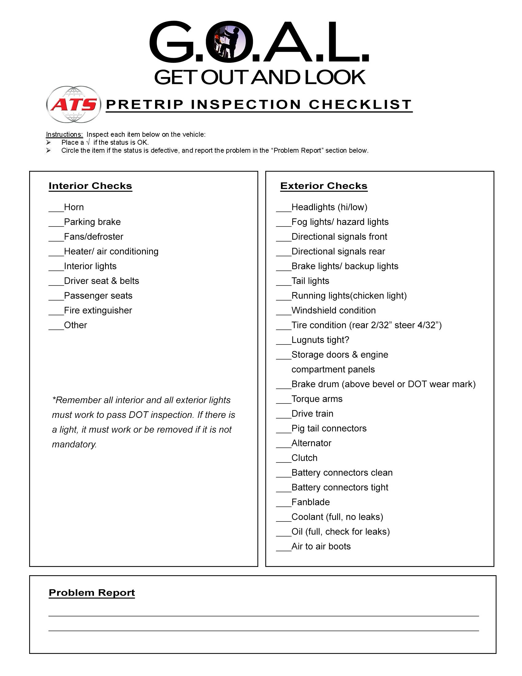 Semi Truck Pre Trip Inspection Diagram Wiring Diagrams Symbols Free Kenworth Lights Related Post