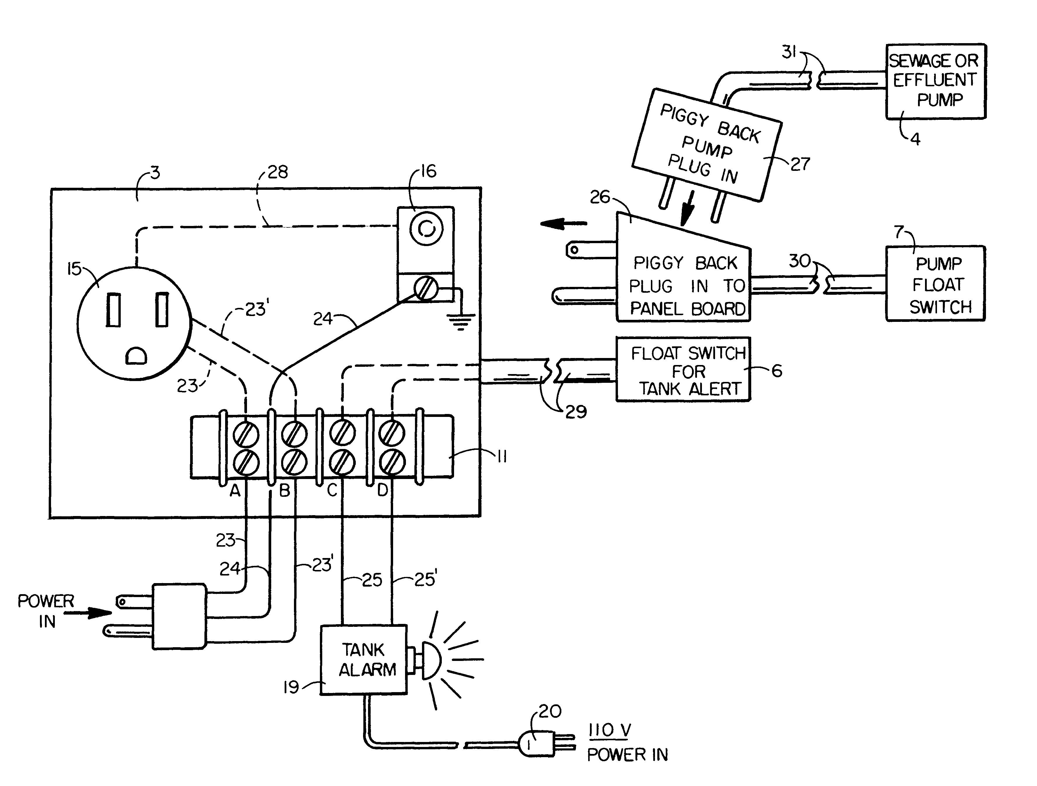 Septic Pump Wiring Diagram Septic Tank Pump Alarm 75 with Septic Tank Pump Alarm Cm Bbs Of Septic Pump Wiring Diagram