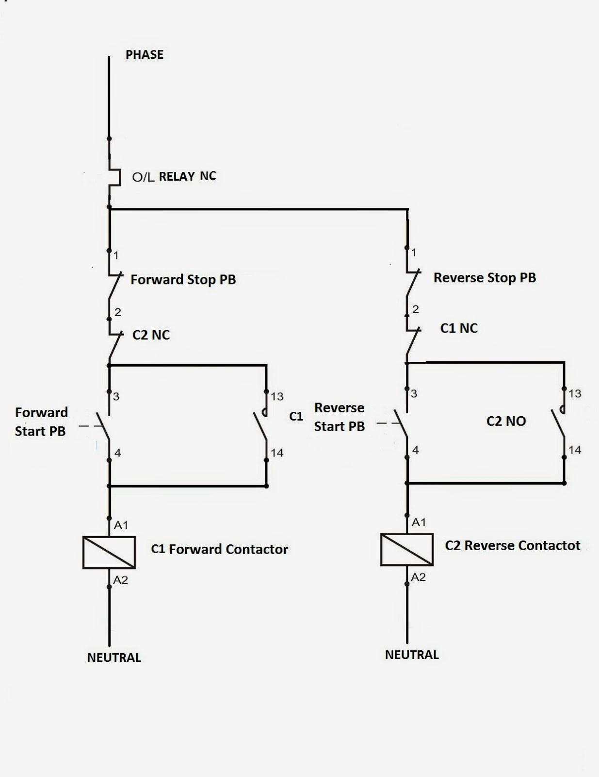 Single Phase Reversing Motor Wiring Diagram forward and Reverse Circuit Diagram Zen Electrical Standards Direct Of Single Phase Reversing Motor Wiring Diagram