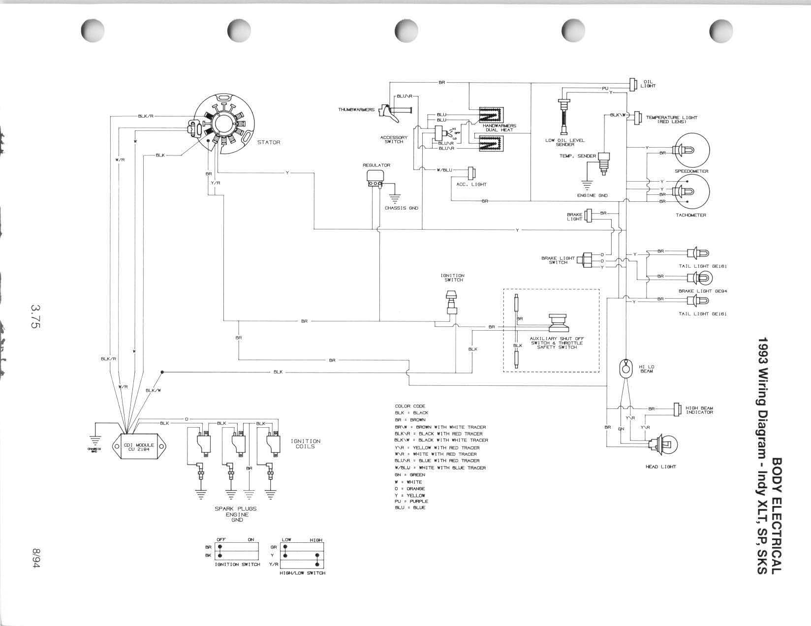 snowmobile engine diagram 92 indy quits when warm my wiring diagram rh detoxicrecenze com 1995 polaris xlt wiring diagram 1996 polaris xlt wiring diagram