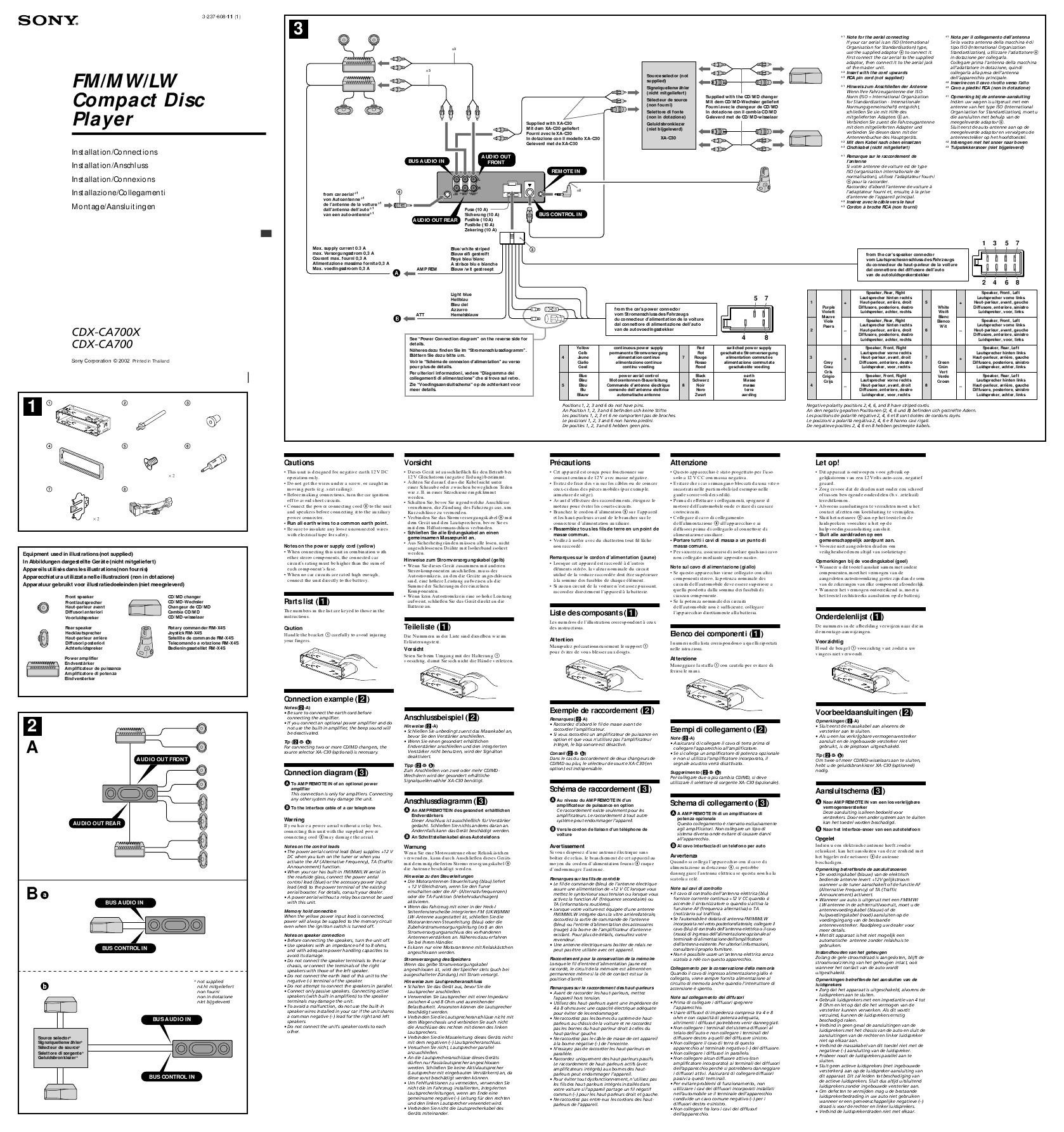 Sony Xplod Car Stereo Wiring Diagram Diagram sony Xplod 52wx4 Wiring Stunning Of Sony Xplod Car Stereo Wiring Diagram