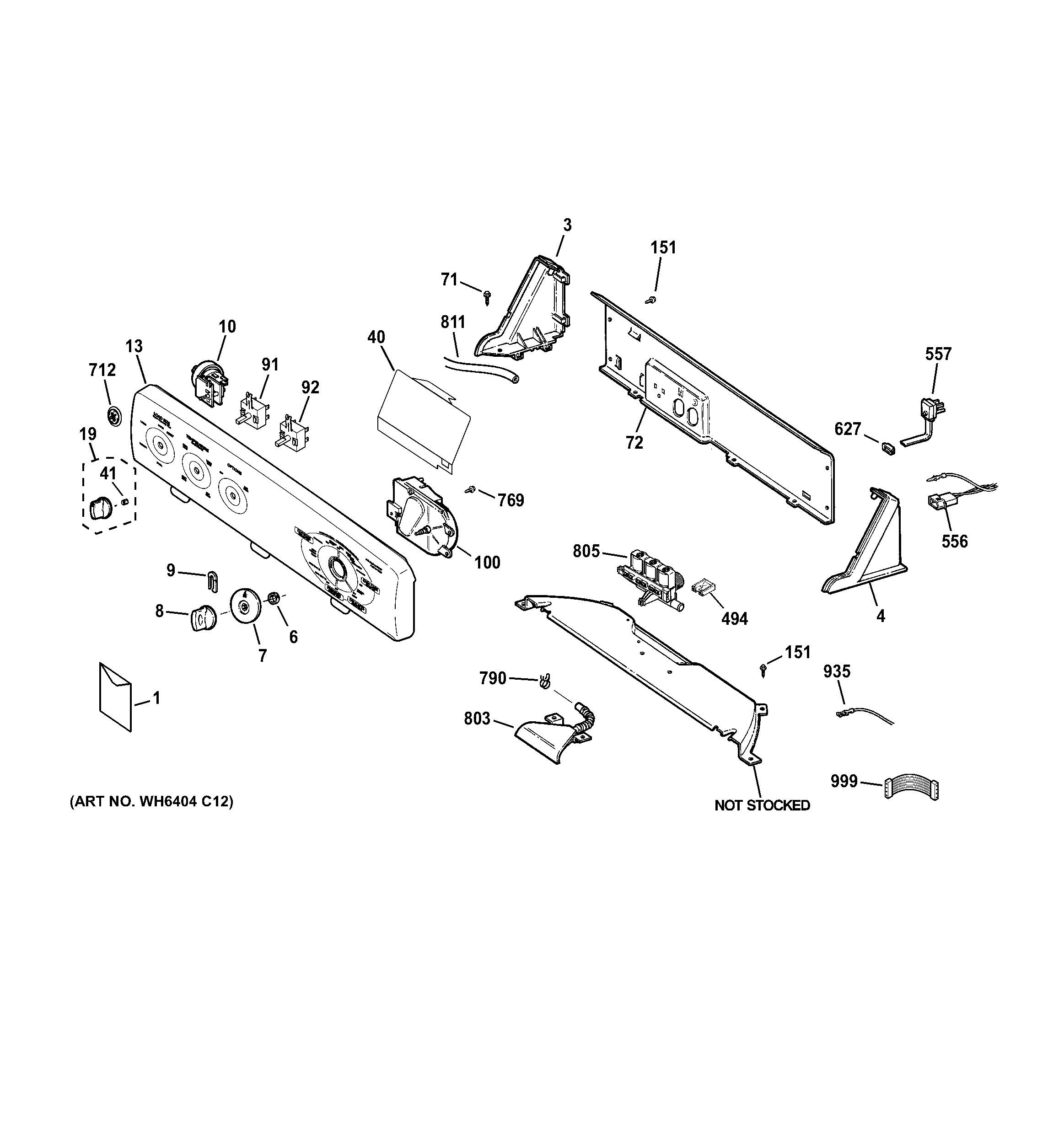 Steering Arm Diagram Ge Washer Parts Model Gban2800f0ww Of Steering Arm Diagram